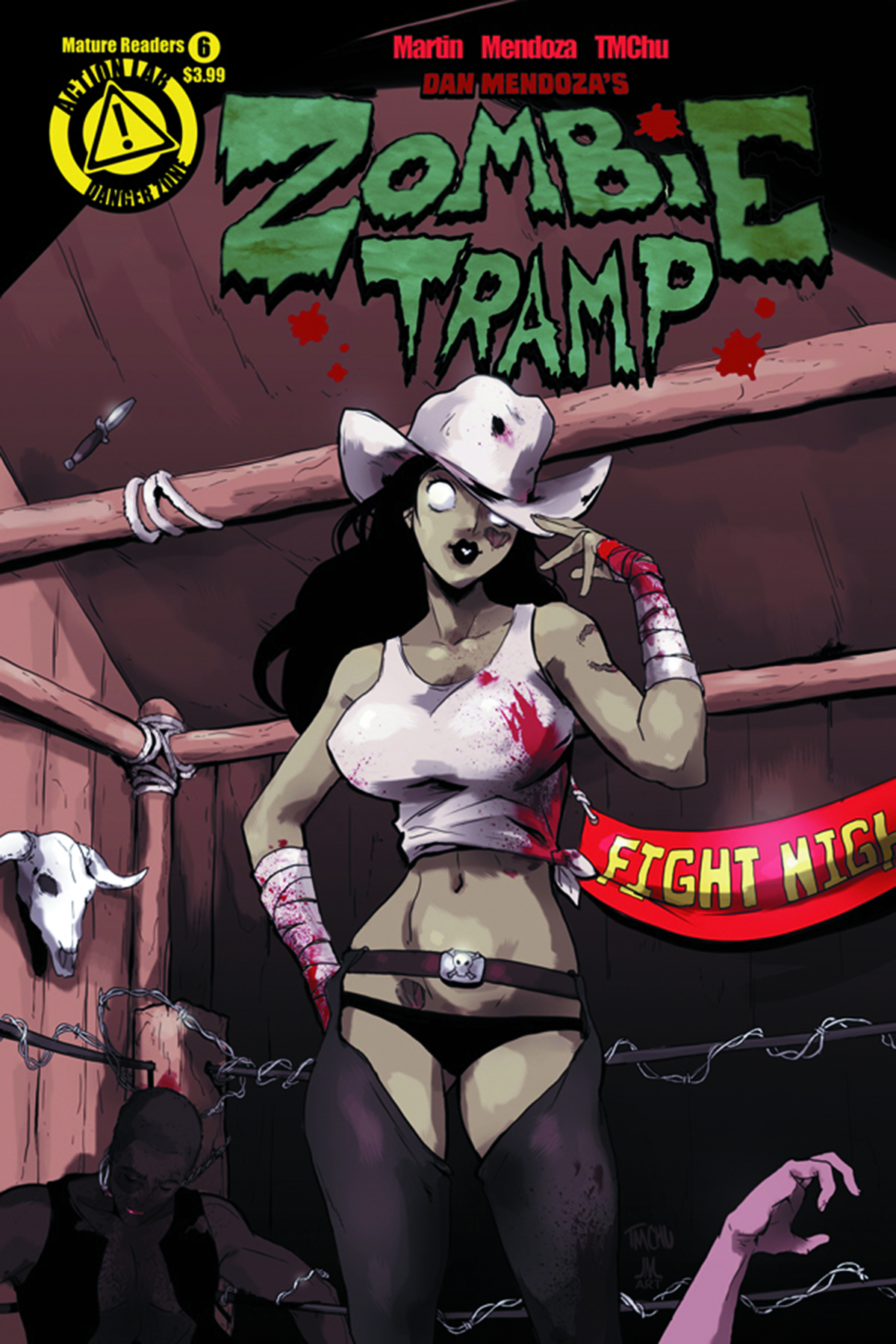ZOMBIE TRAMP ONGOING #6 (MR)