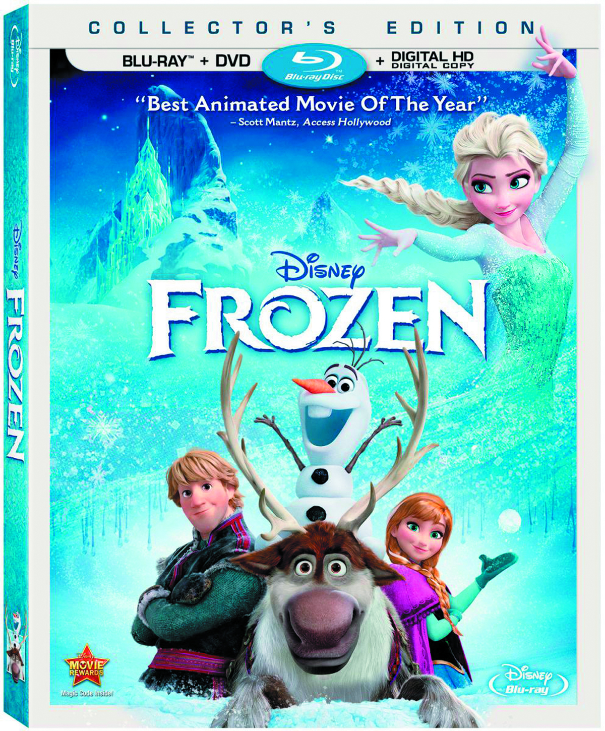 DISNEYS FROZEN BD + DVD