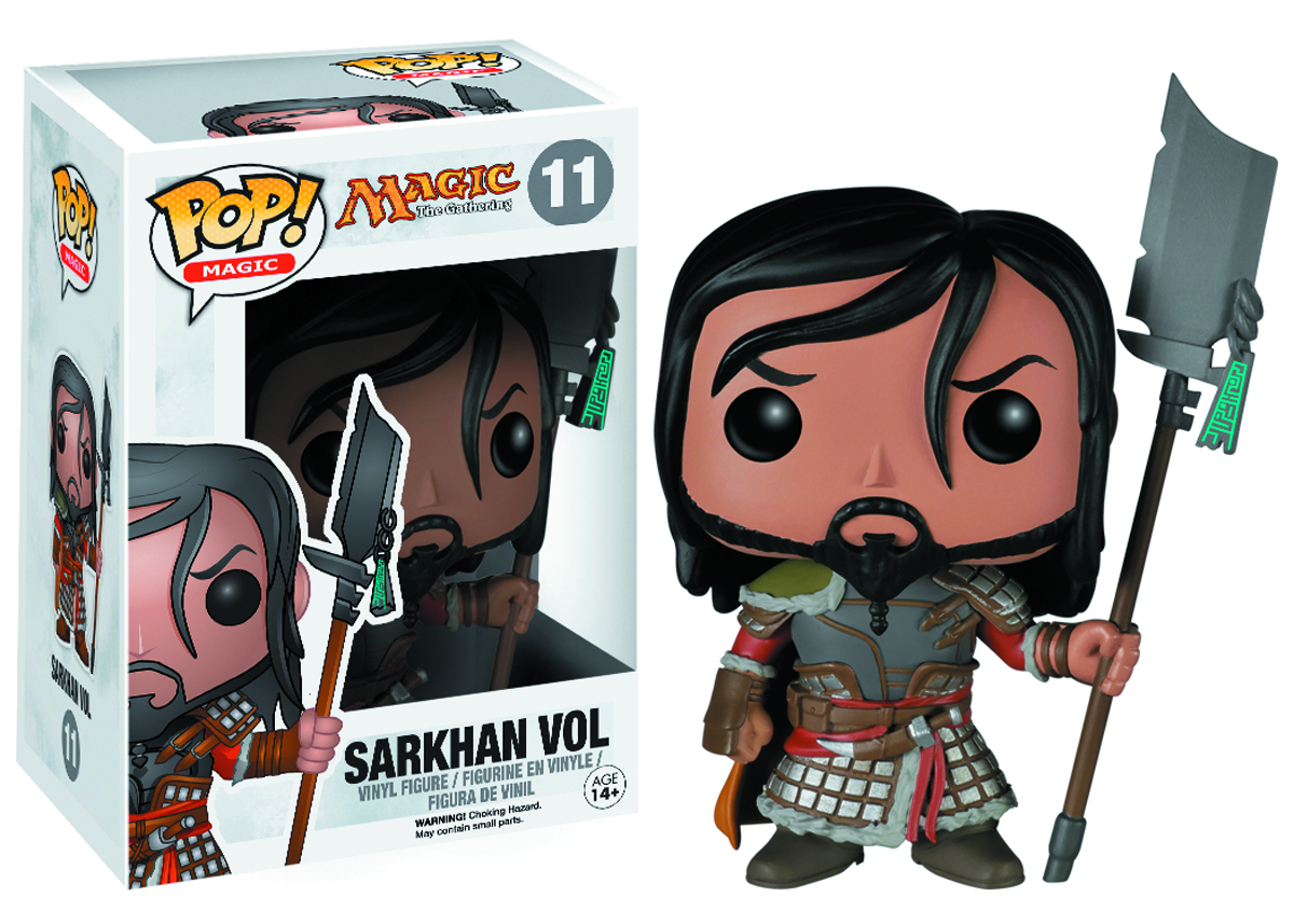 POP MTG SARKHAN VOL VINYL FIG