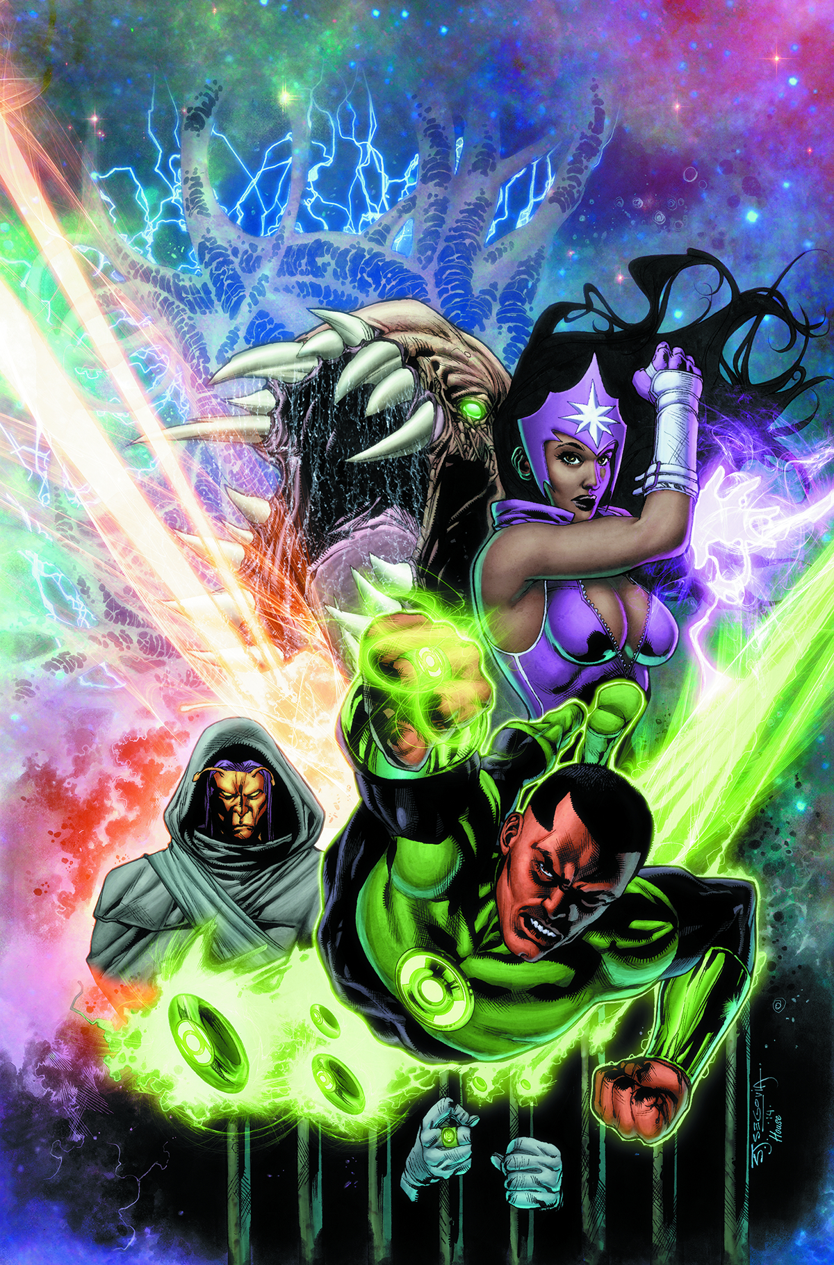 GREEN LANTERN CORPS TP VOL 05 UPRISING