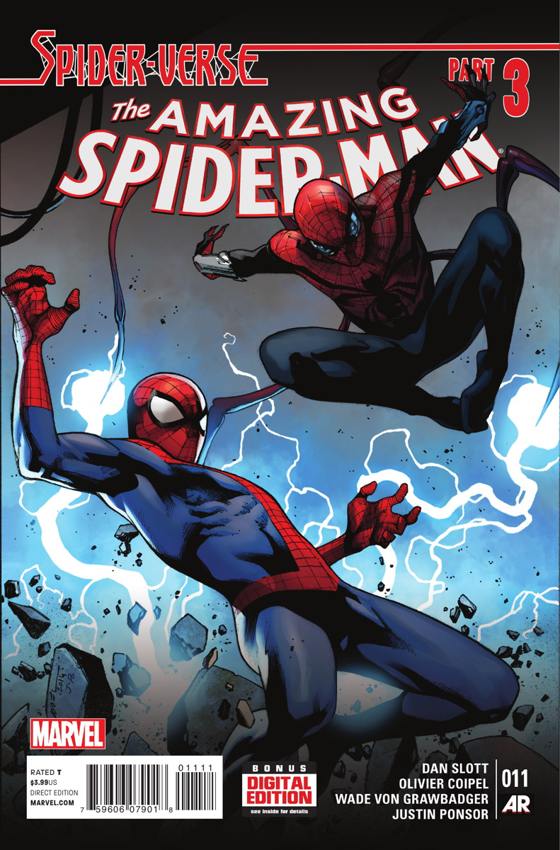 AMAZING SPIDER-MAN #11 SV