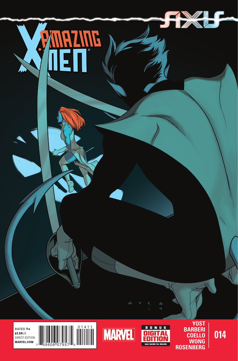 AMAZING X-MEN #14 AXIS