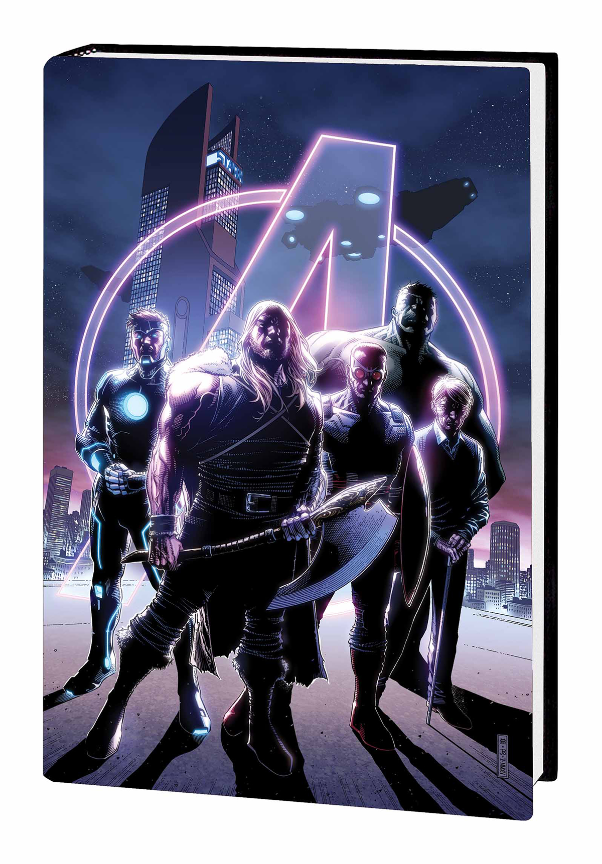 AVENGERS TIME RUNS OUT PREM HC VOL 01