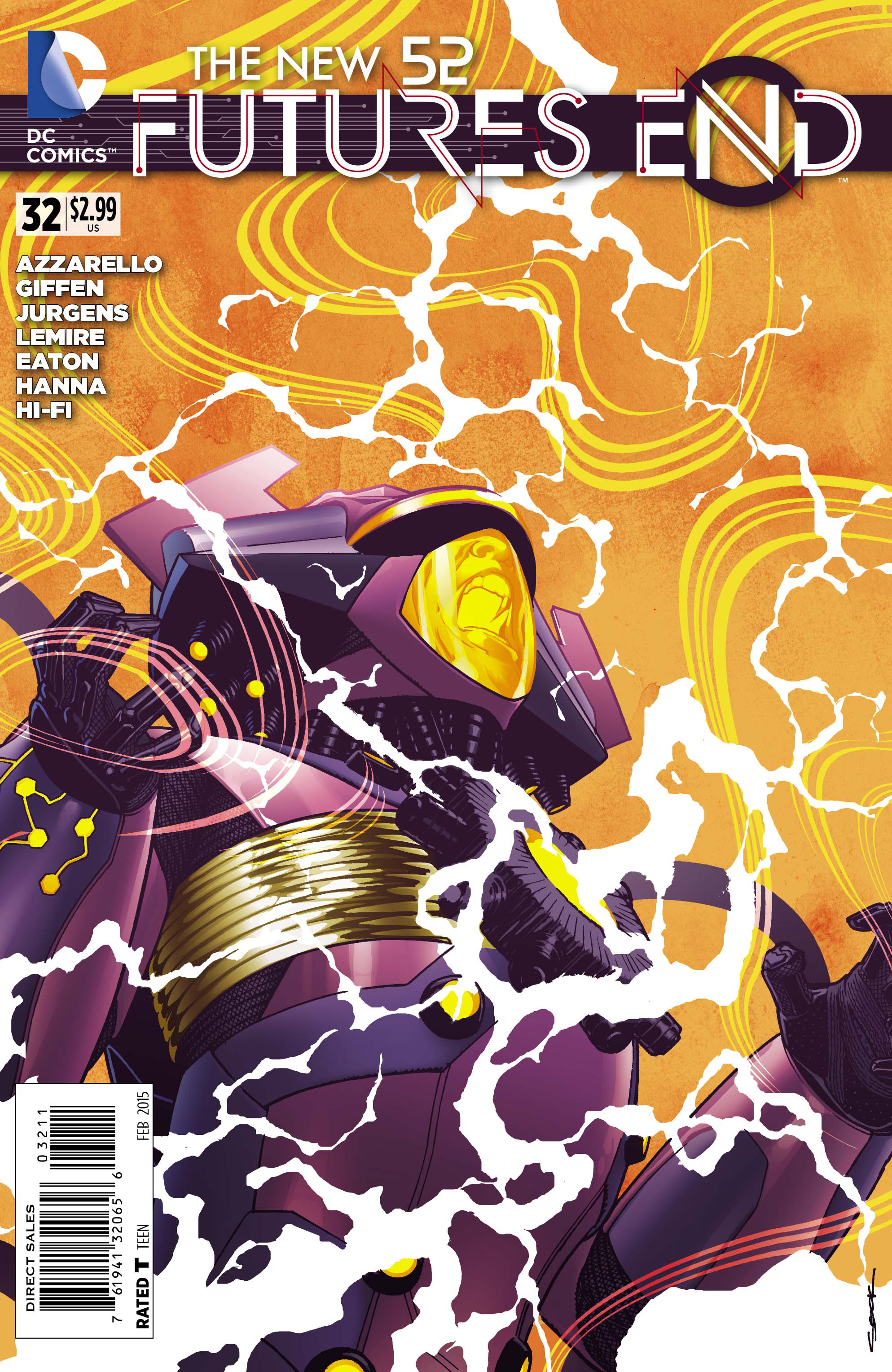 NEW 52 FUTURES END #32
