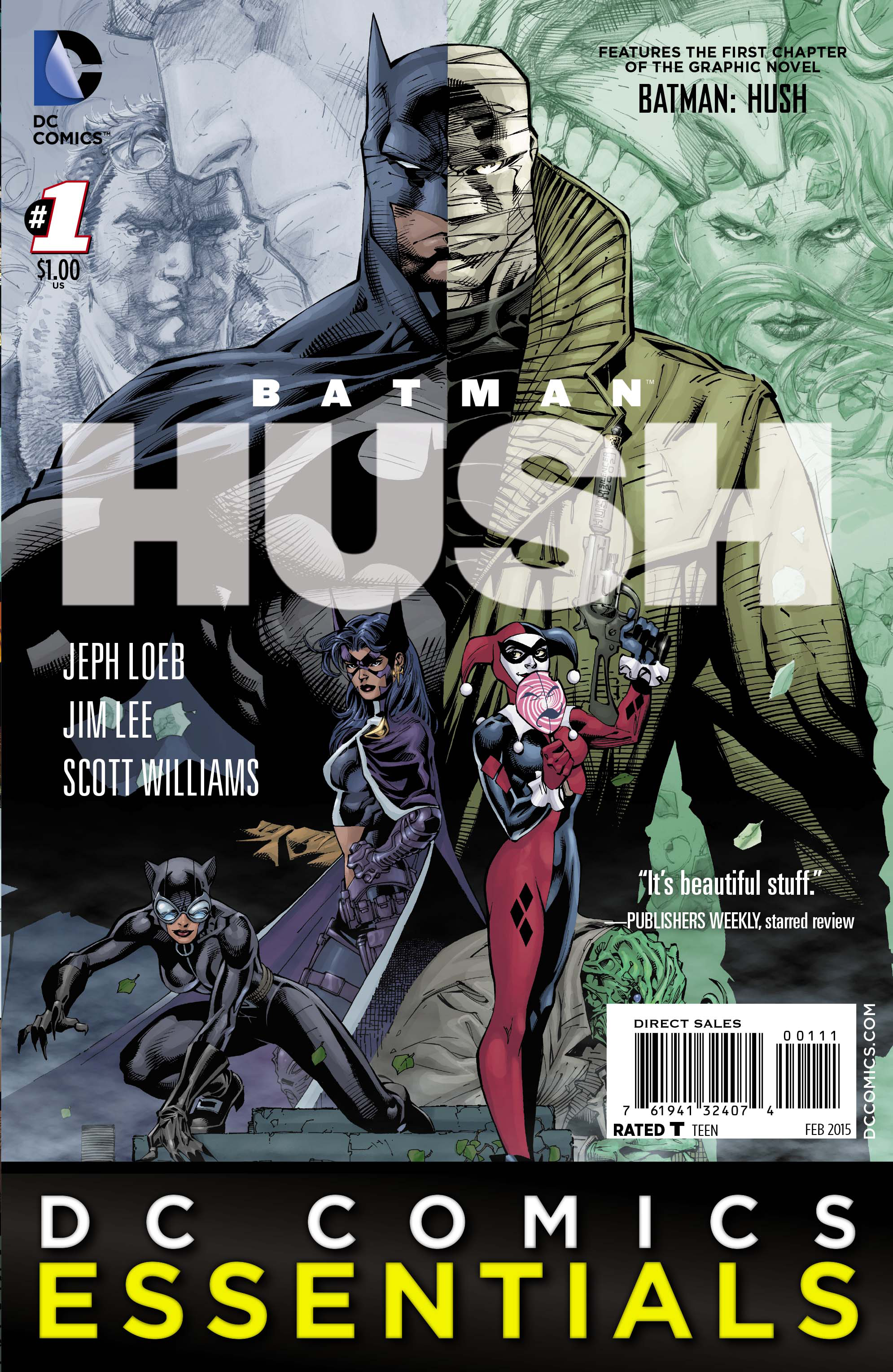 BATMAN ESSENTIALS BATMAN HUSH #1