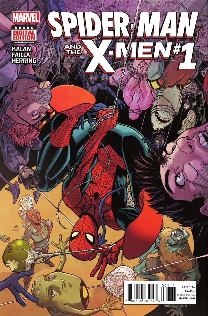 SPIDER-MAN AND X-MEN #1