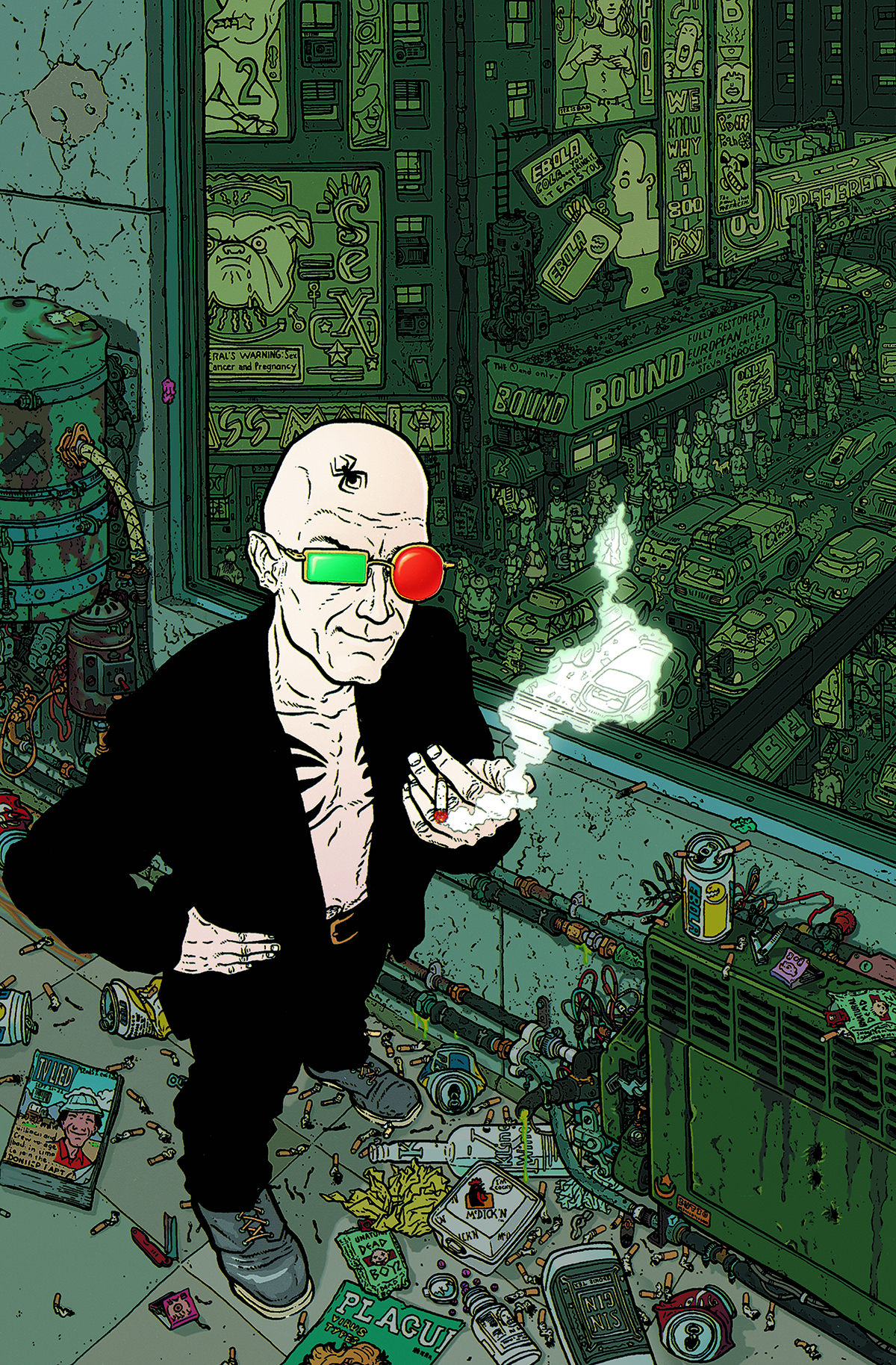 ABSOLUTE TRANSMETROPOLITAN HC VOL 01 (MR)