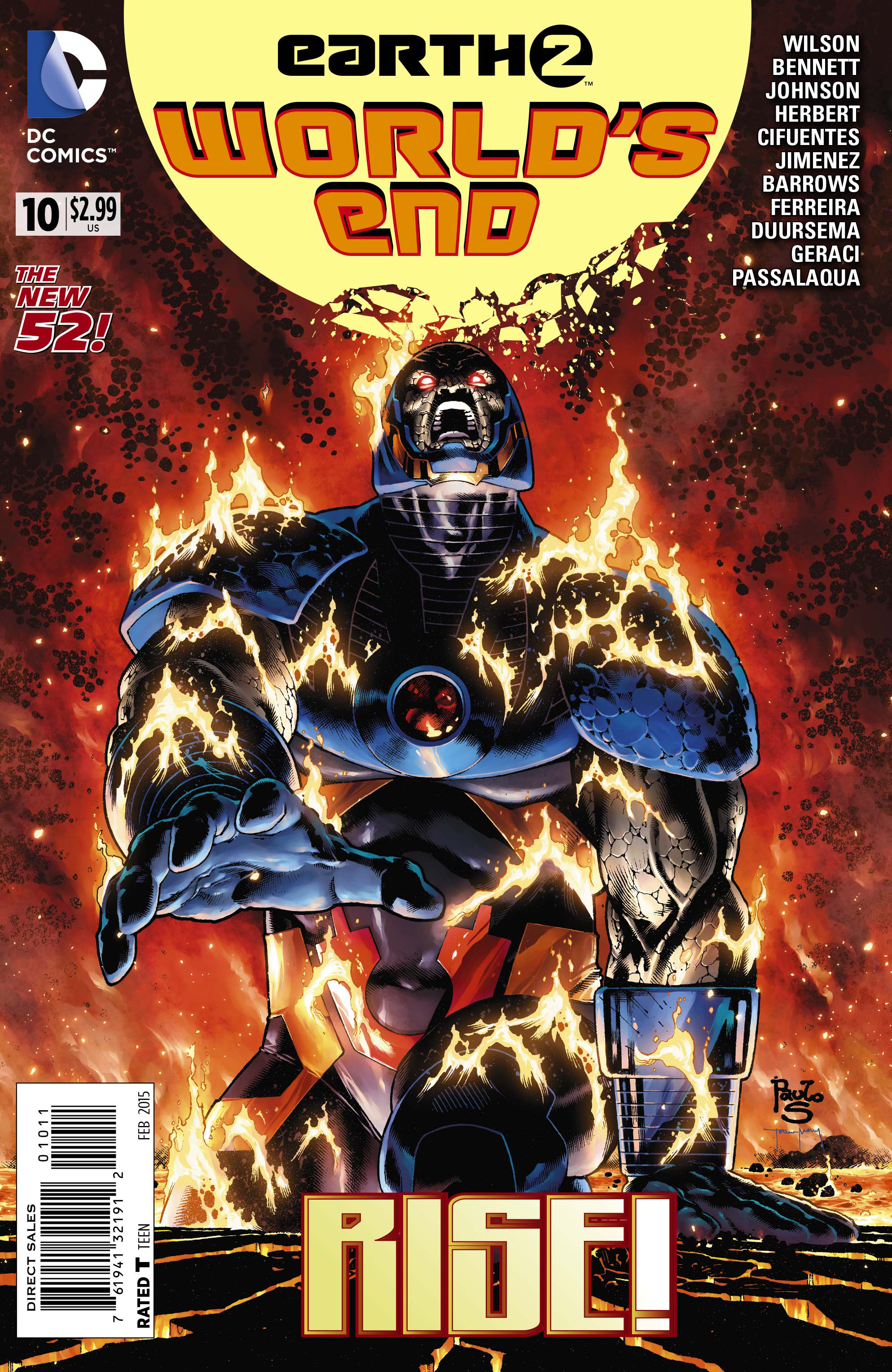 EARTH 2 WORLDS END #10