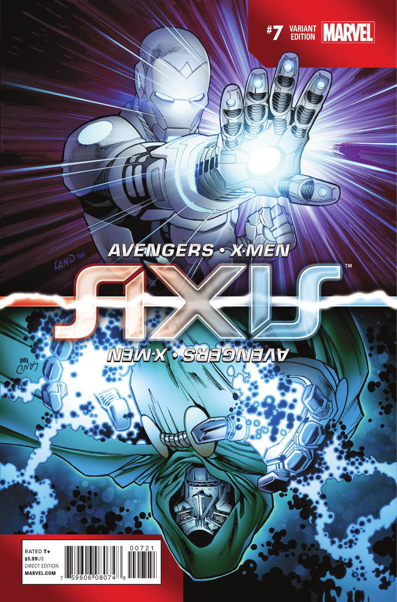 AVENGERS AND X-MEN AXIS #7 (OF 9) LAND INVERSION VAR