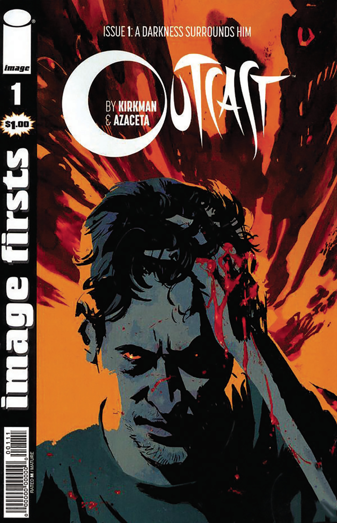 IMAGE FIRSTS OUTCAST #1 (O/A) (MR)