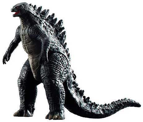 GODZILLA TRADING FIGURE COLLECTION GODZILLA 2004