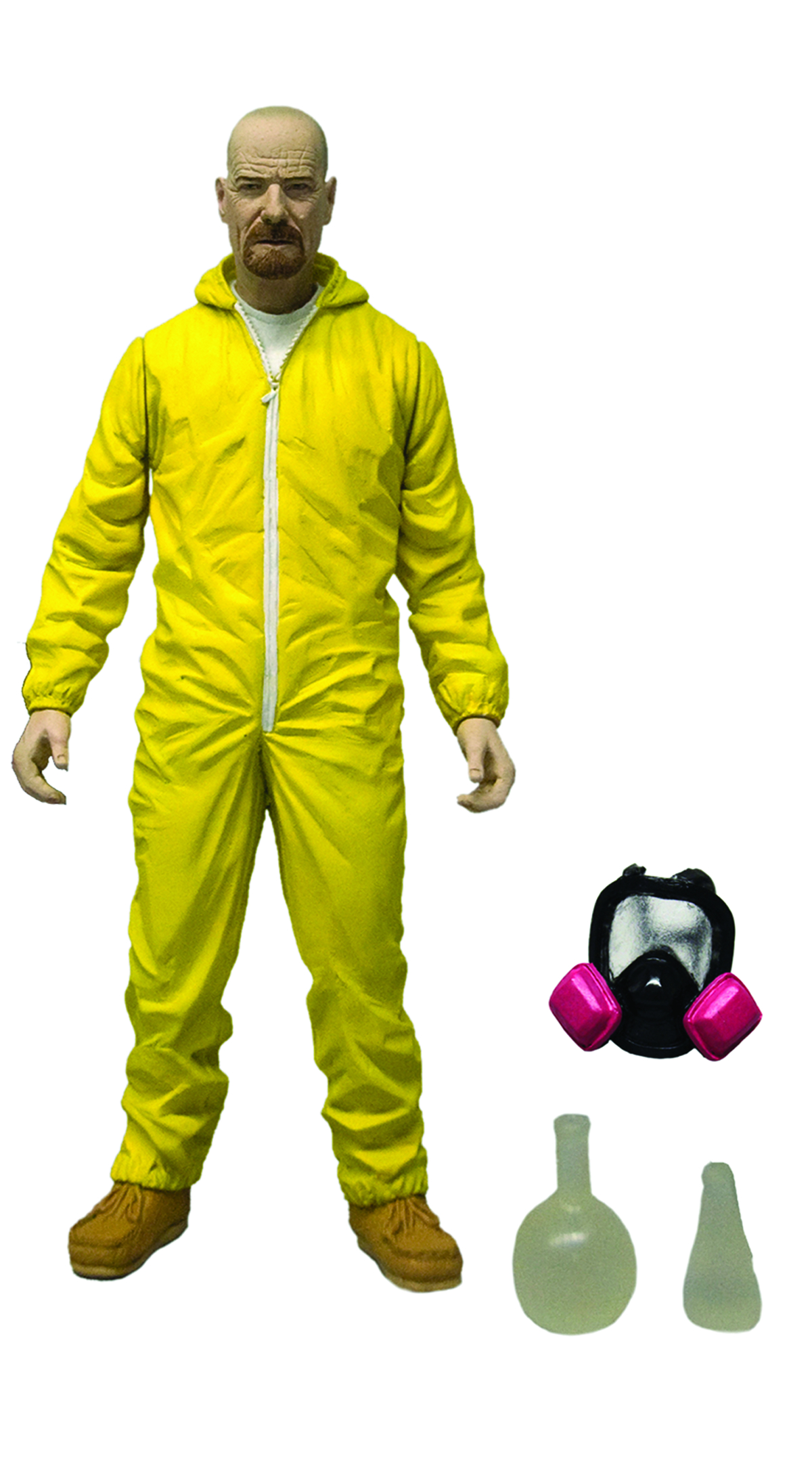 BREAKING BAD WALTER WHITE YELLOW HAZMAT 6-IN AF