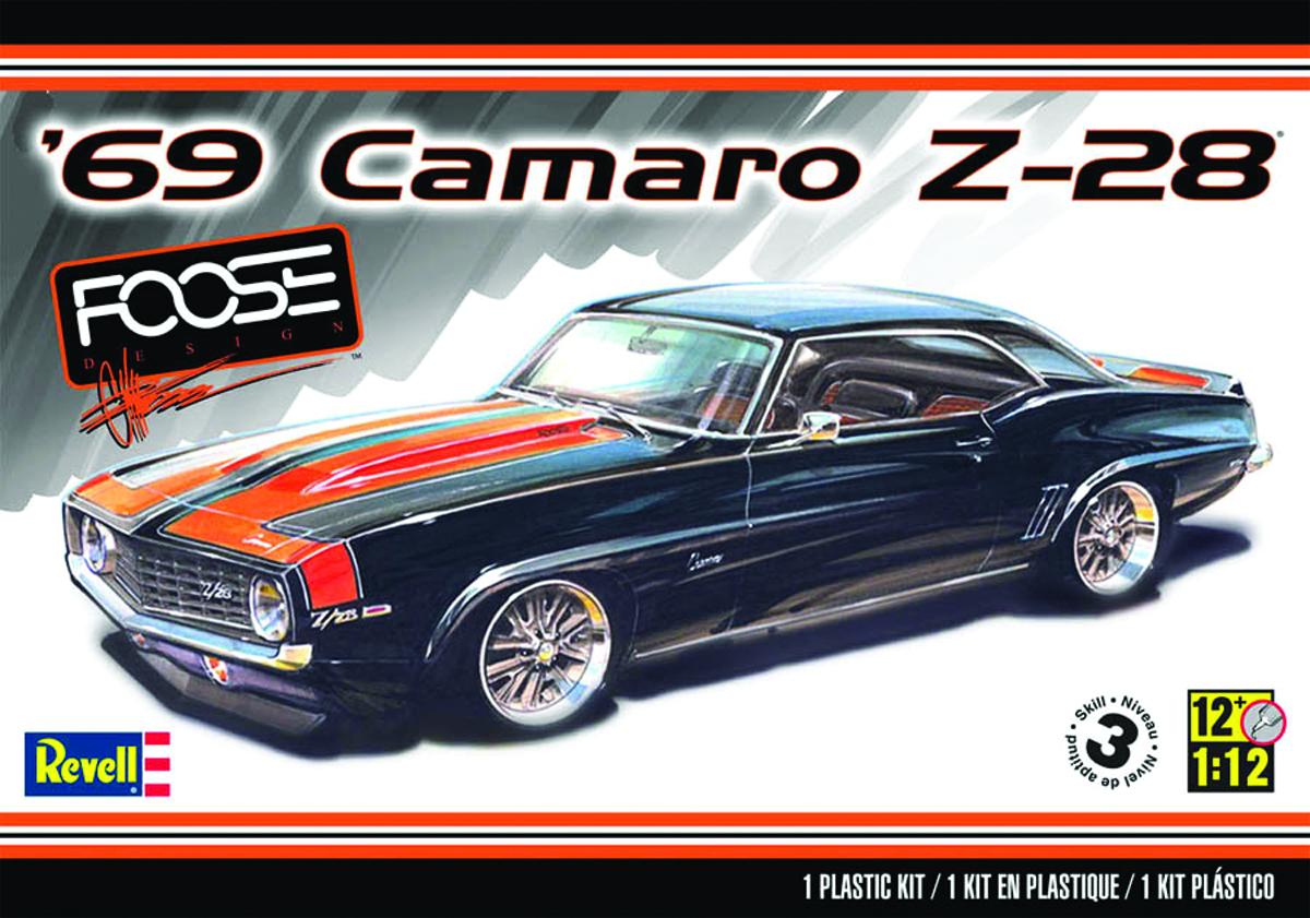 NOV142333 - FOOSE 69 CAMARO Z28 1/12 SCALE MODEL KIT - Previews World