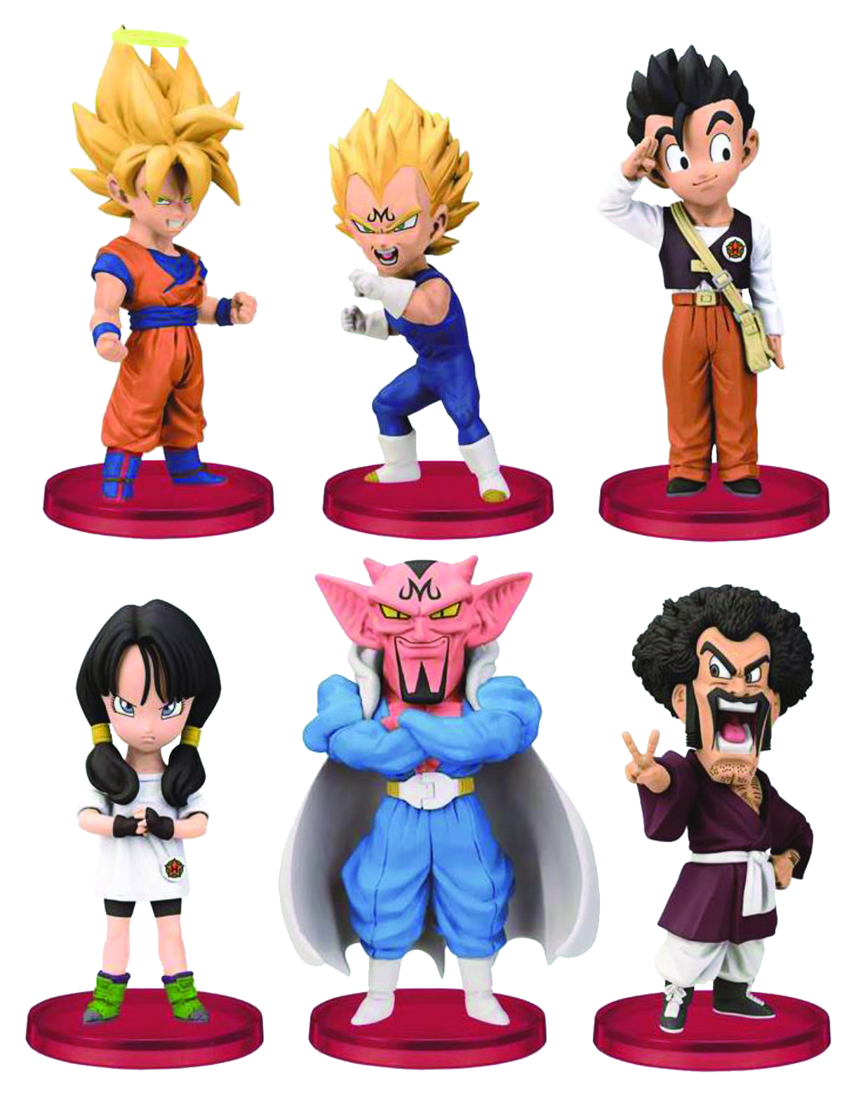 DBZ WCF EPISODE OF BOO VOL 1 MR SATAN & BEE FIG