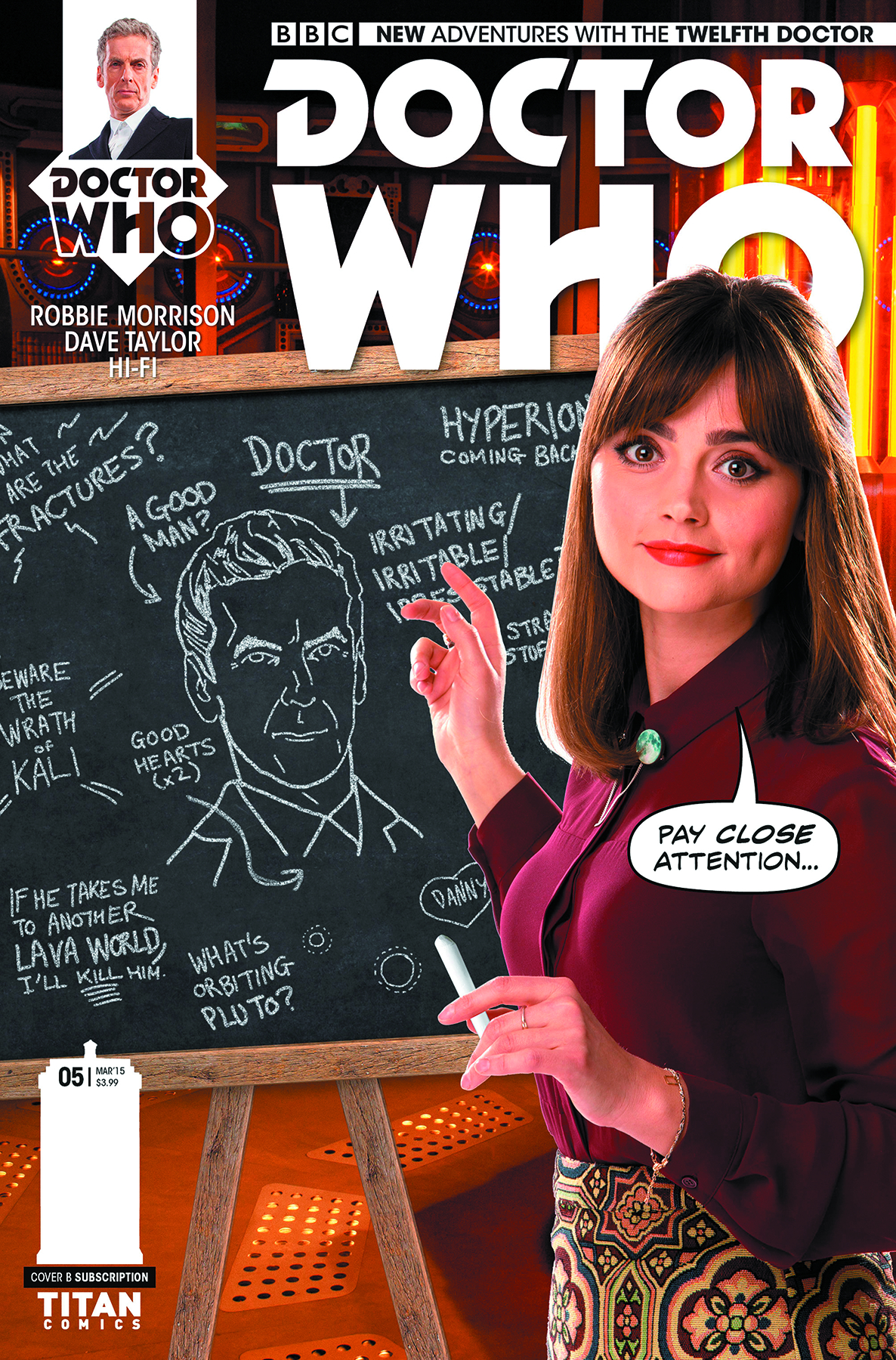 DOCTOR WHO 12TH #5 SUBSCRIPTION PHOTO
