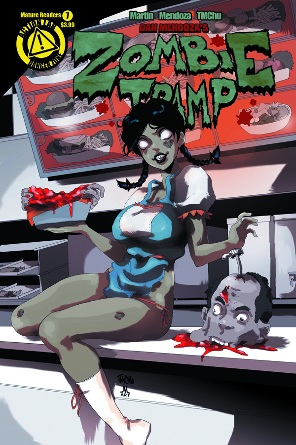 ZOMBIE TRAMP ONGOING #7 (MR)