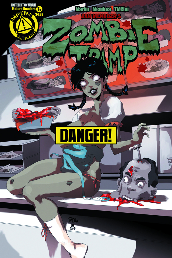 ZOMBIE TRAMP ONGOING #7 RISQUE CVR (MR)