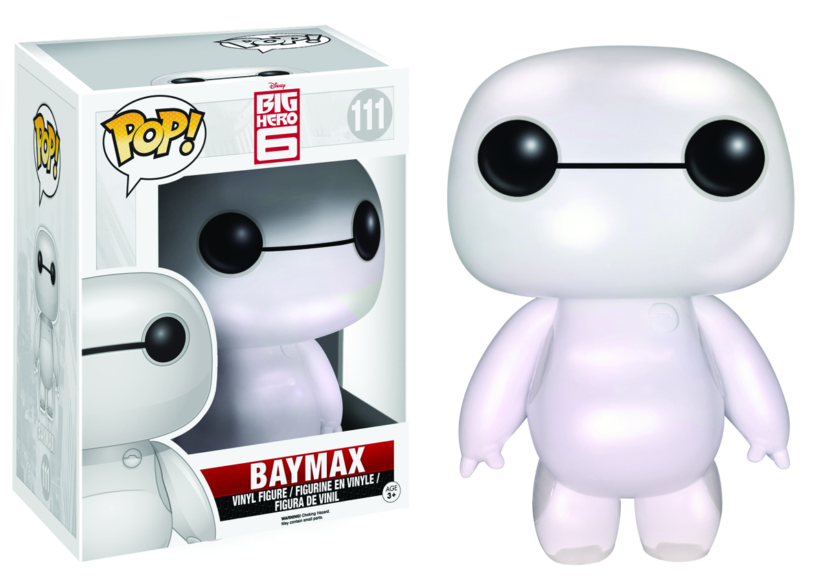 POP BIG HERO 6 NURSE BAYMAX PEARLESCENT 6IN VINYL FIG