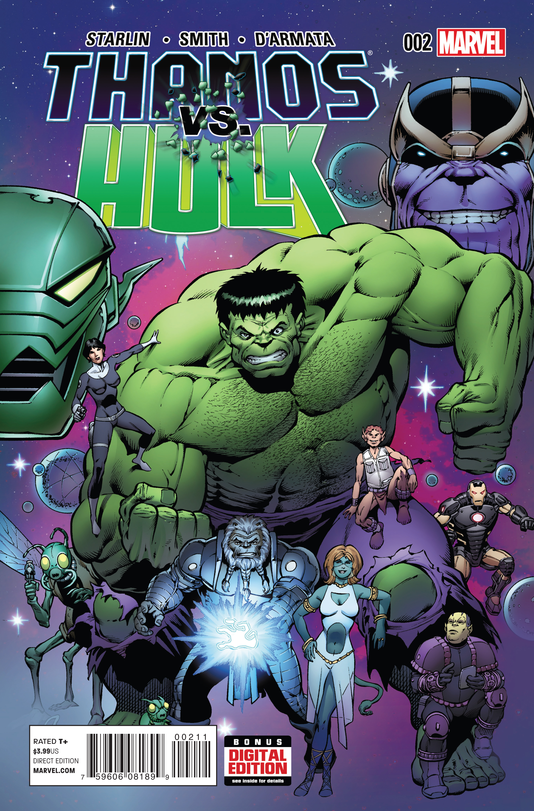 THANOS VS HULK #2