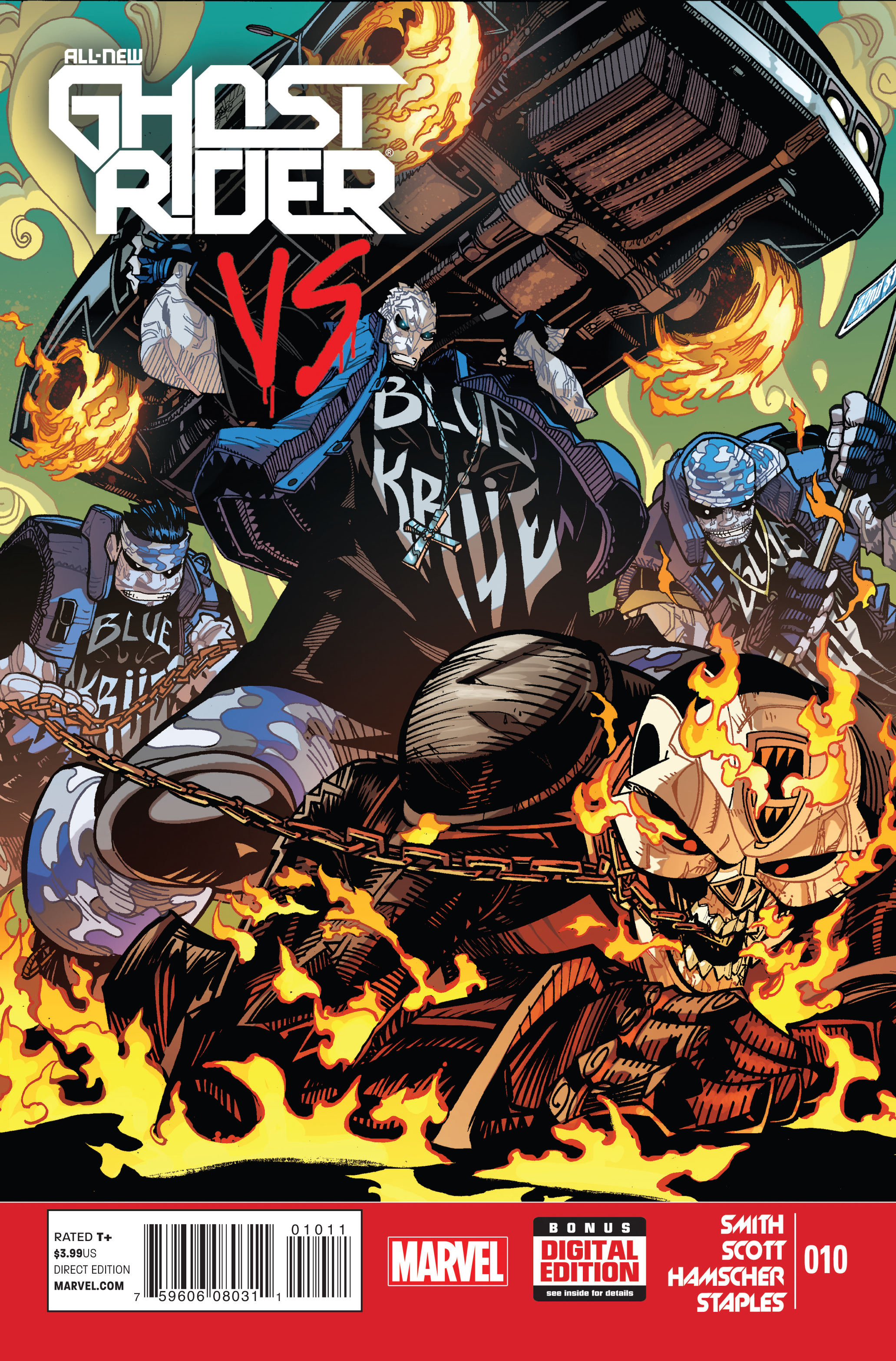 ALL NEW GHOST RIDER #10