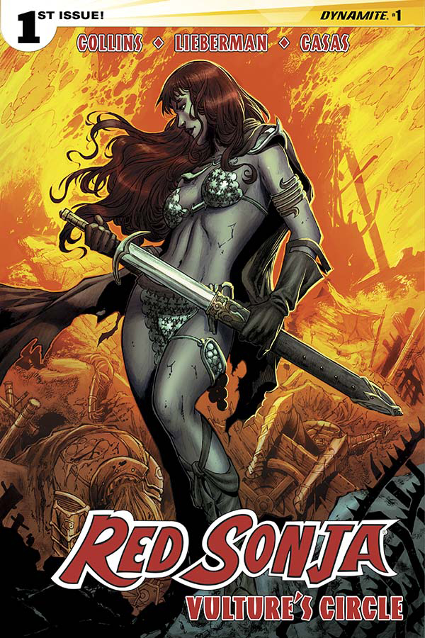RED SONJA VULTURES CIRCLE #1 CVR B GEOVANI