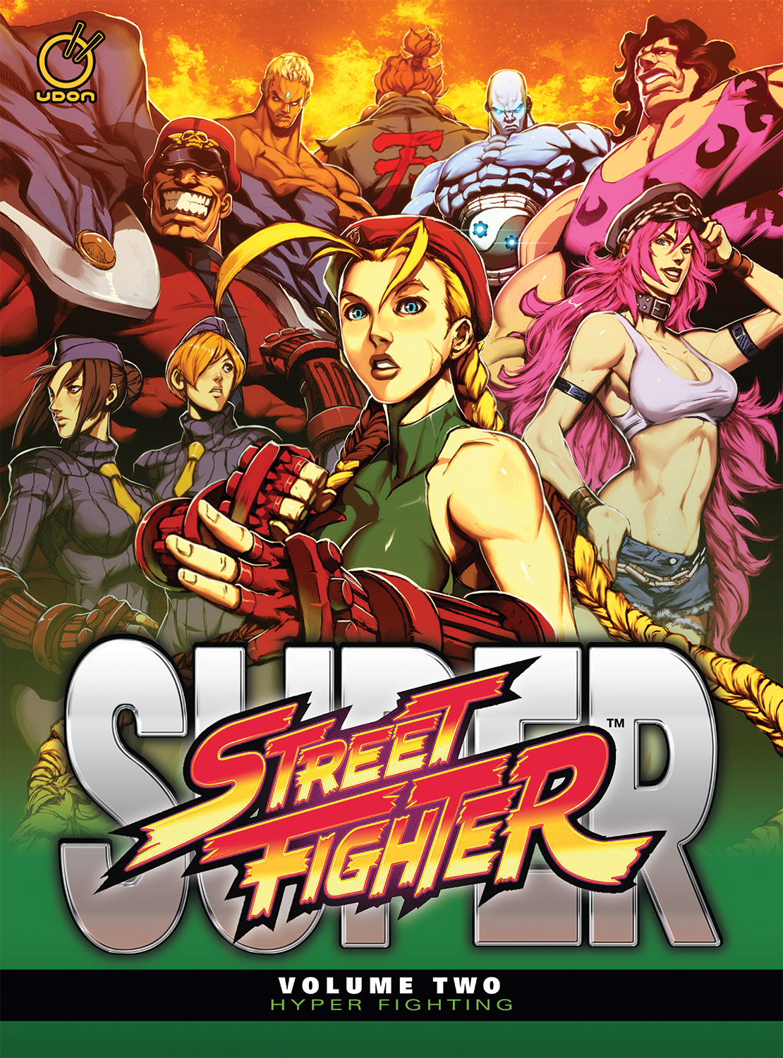 SUPER STREET FIGHTER HC VOL 02 HYPER FIGHTING