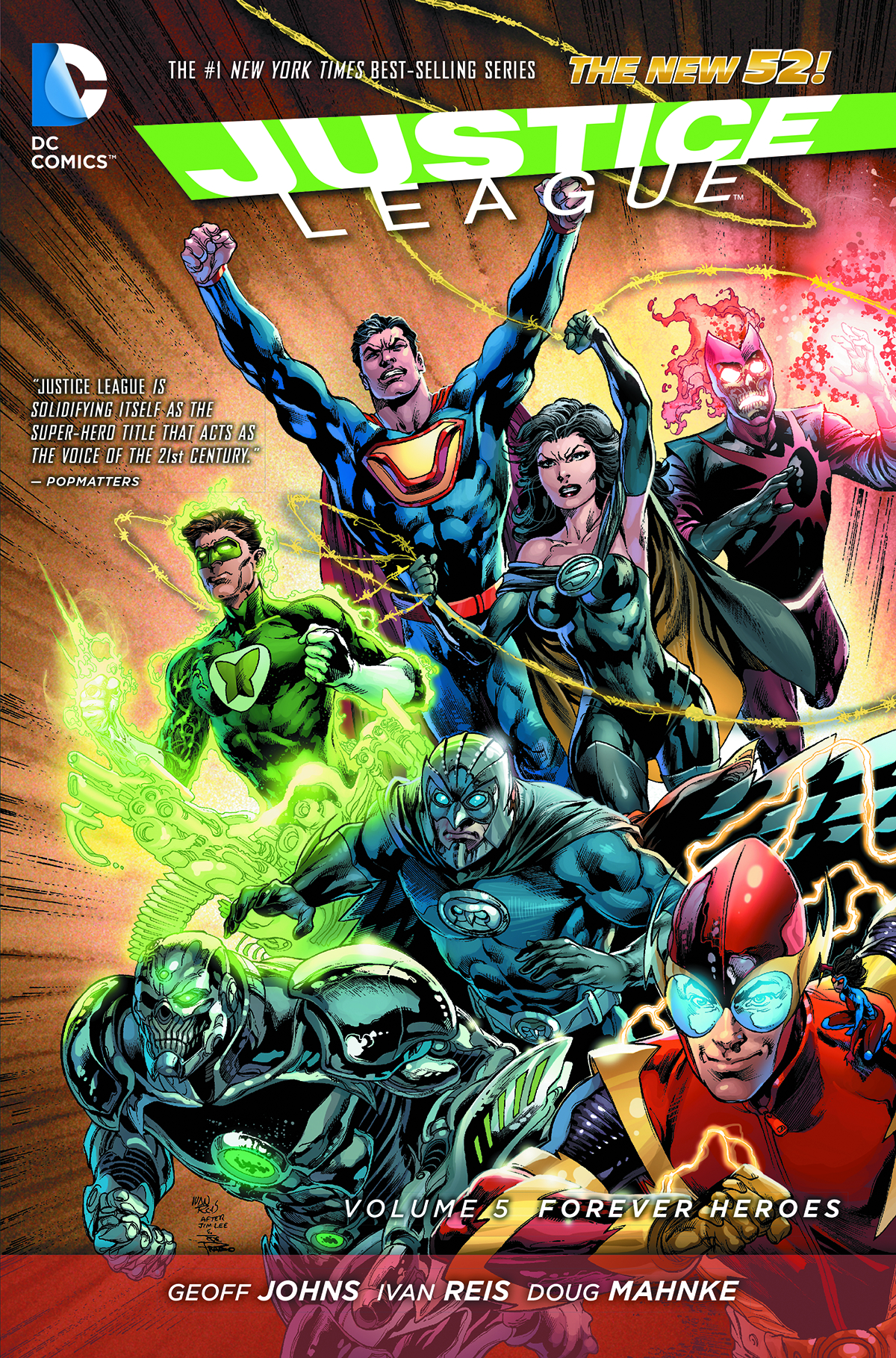 JUSTICE LEAGUE TP VOL 05 FOREVER HEROES