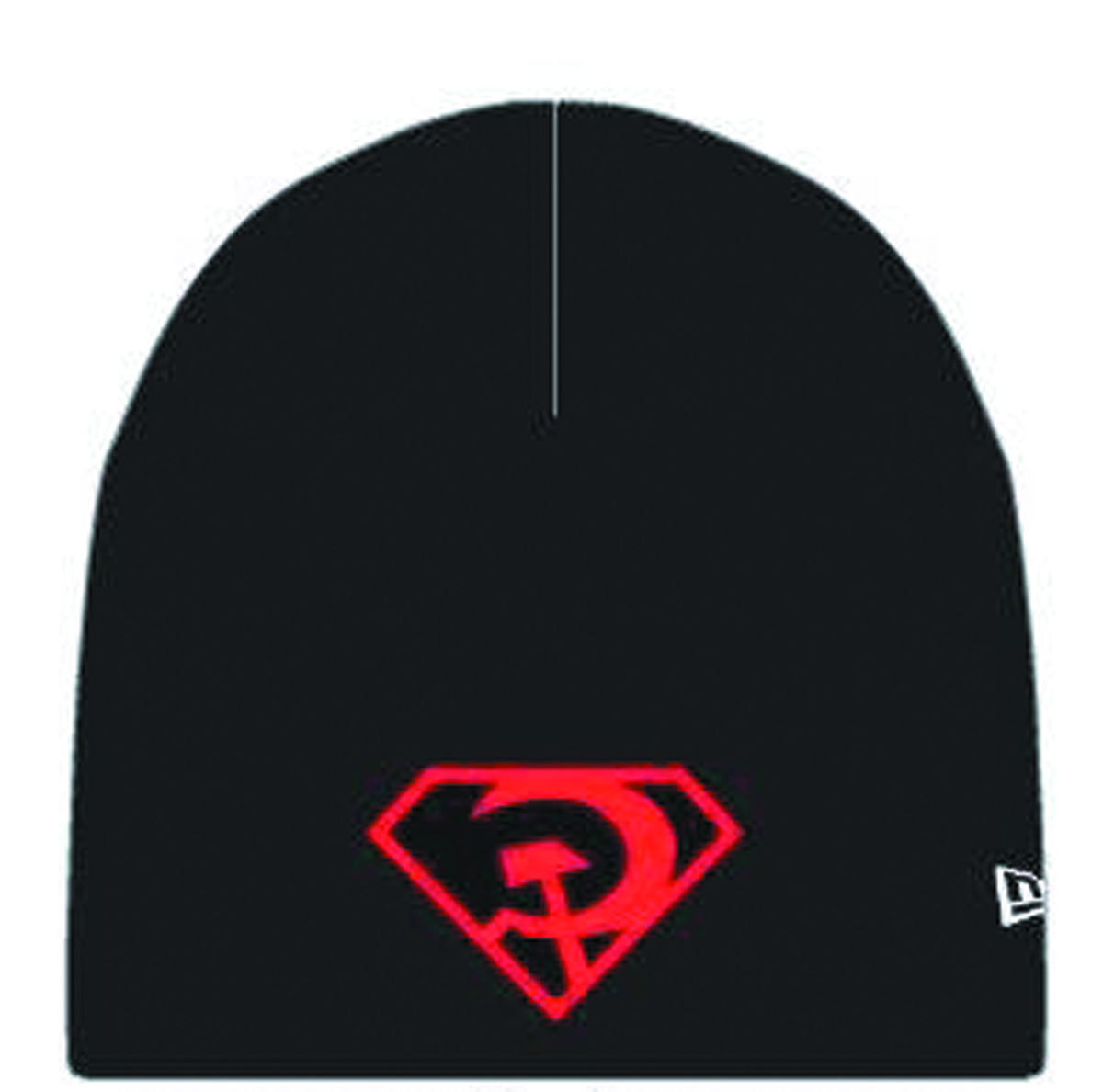SUPERMAN RED SON SYMBOL KNIT BEANIE