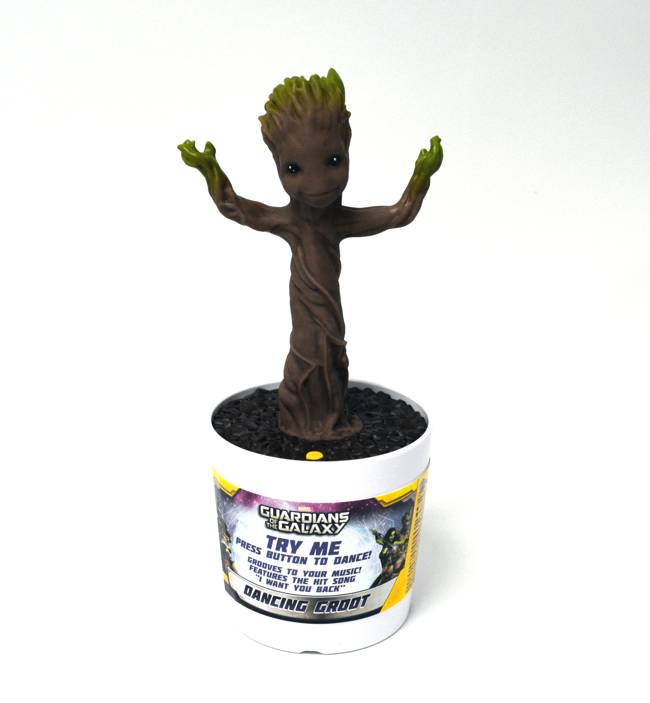 GOTG ELECTRONIC DANCING BABY GROOT 8PC DISP