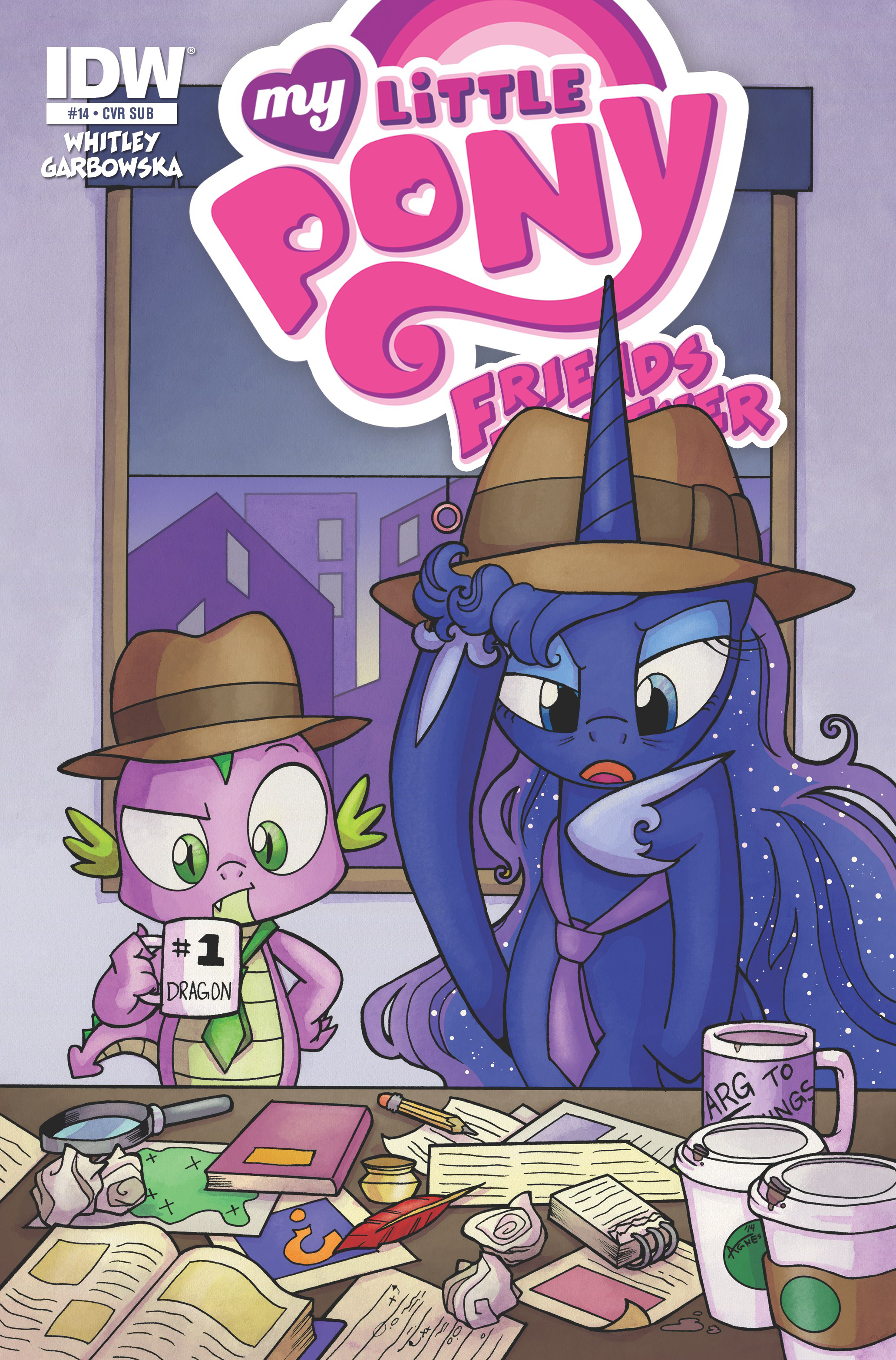 MY LITTLE PONY FRIENDS FOREVER #14 SUBSCRIPTION VAR