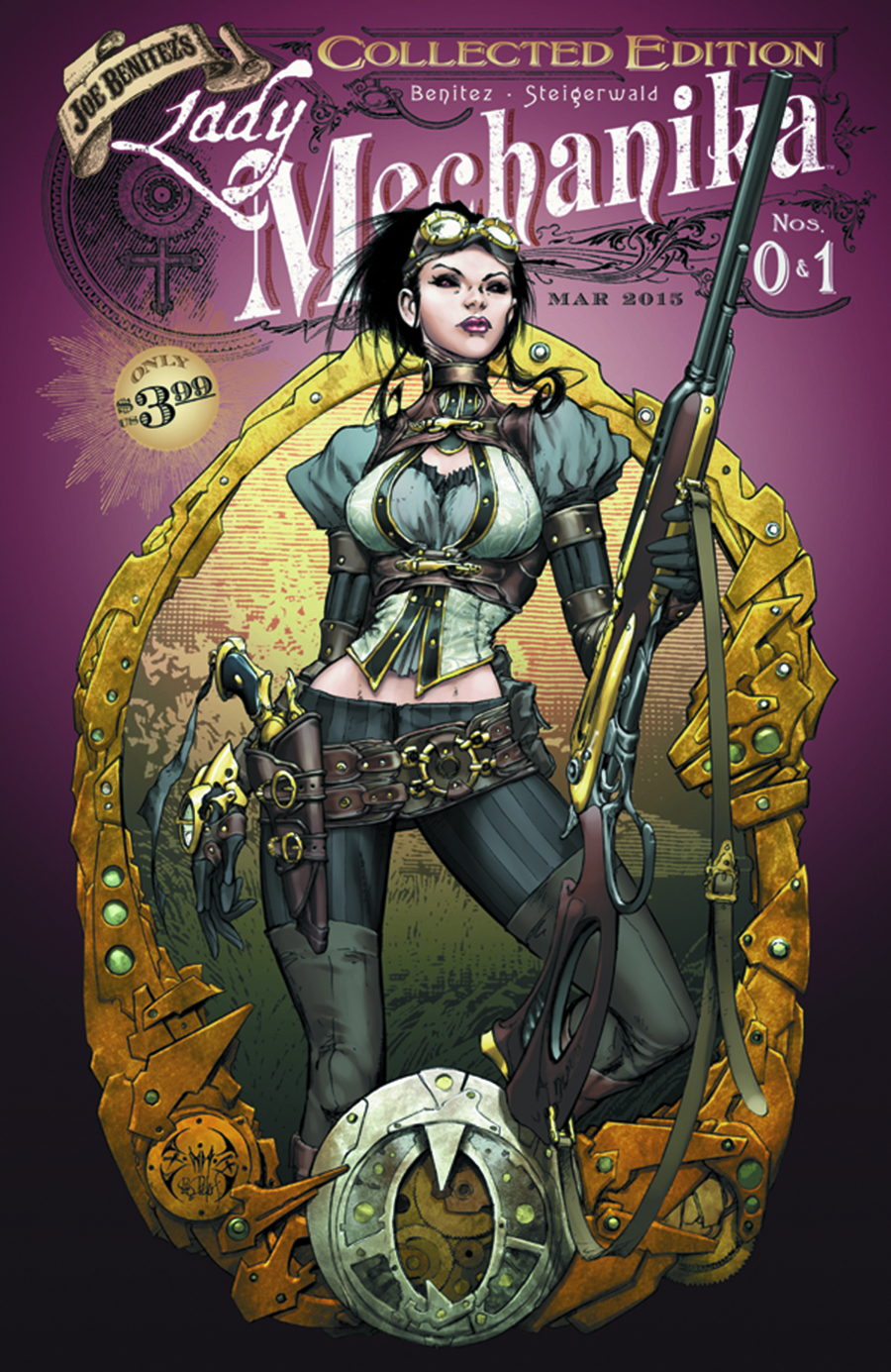 LADY MECHANIKA #0 & #1 COLLECTED ED (MR)