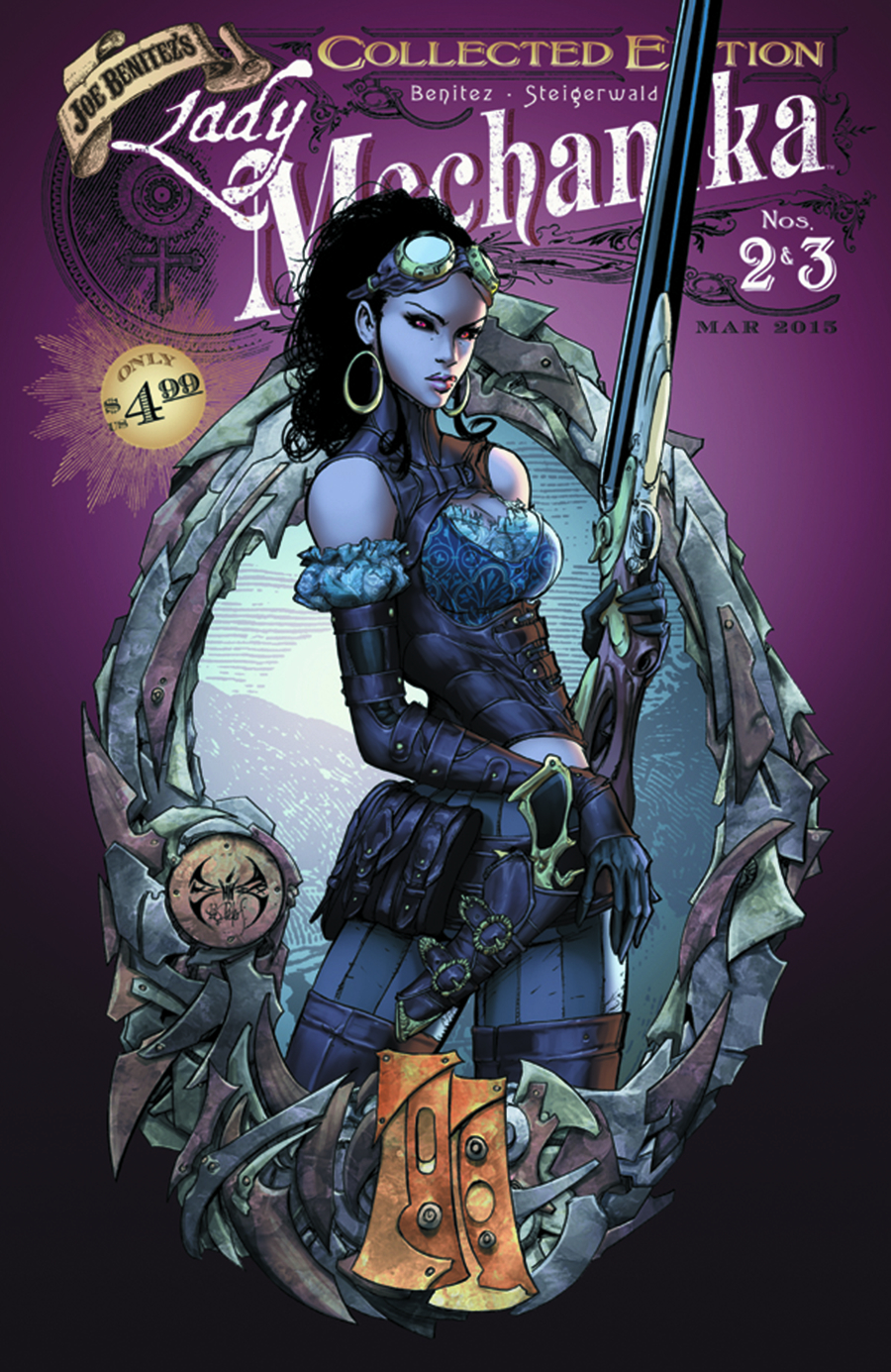 LADY MECHANIKA #2 & #3 COLLECTED ED (MR)