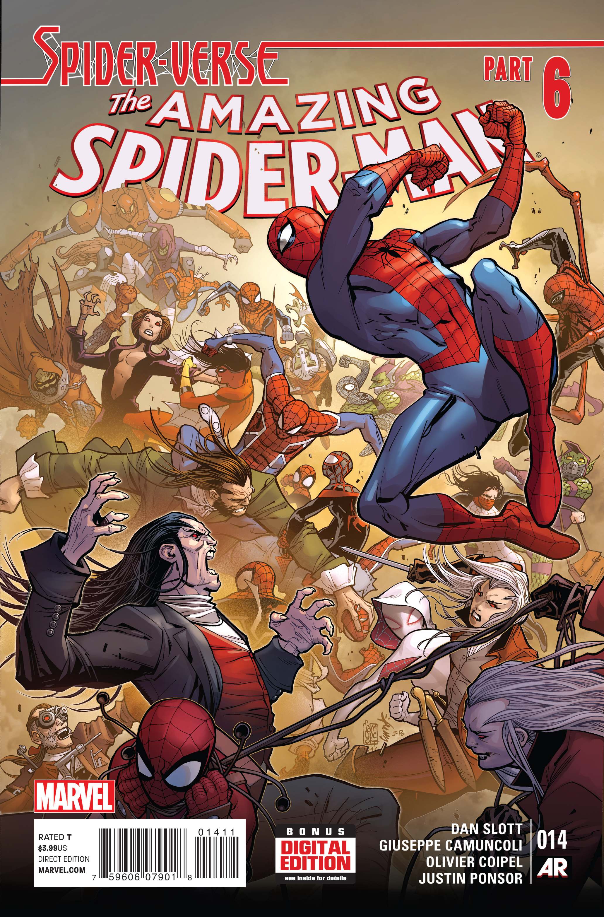 AMAZING SPIDER-MAN #14 SV