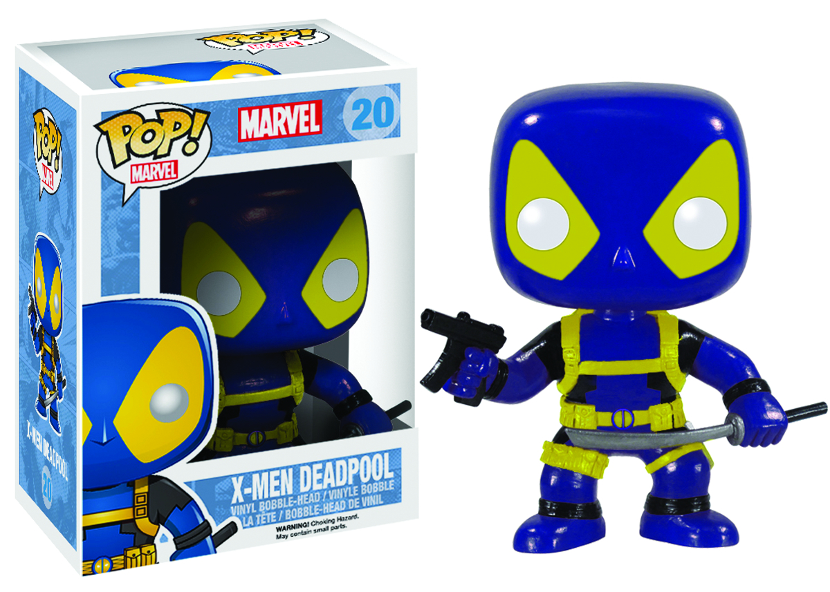 POP MARVEL X-MEN DEADPOOL VINYL FIG