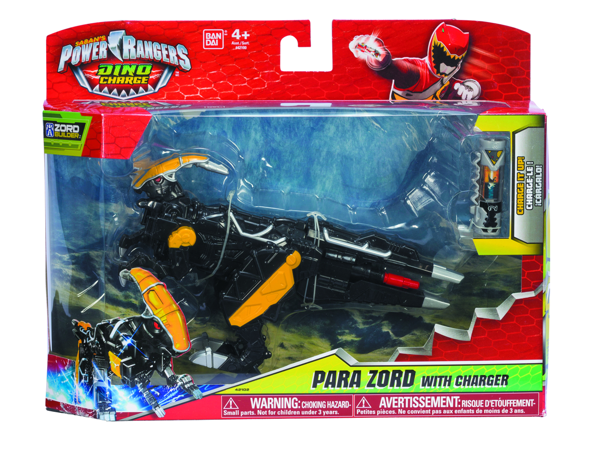POWER RANGERS DINO CHARGE DLX ARMOR AF ASST