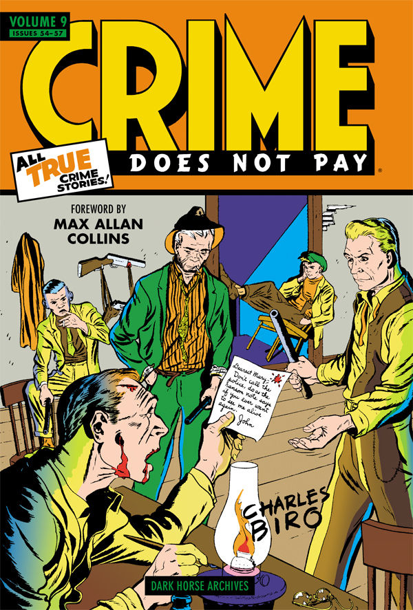 CRIME DOES NOT PAY ARCHIVES HC VOL 09