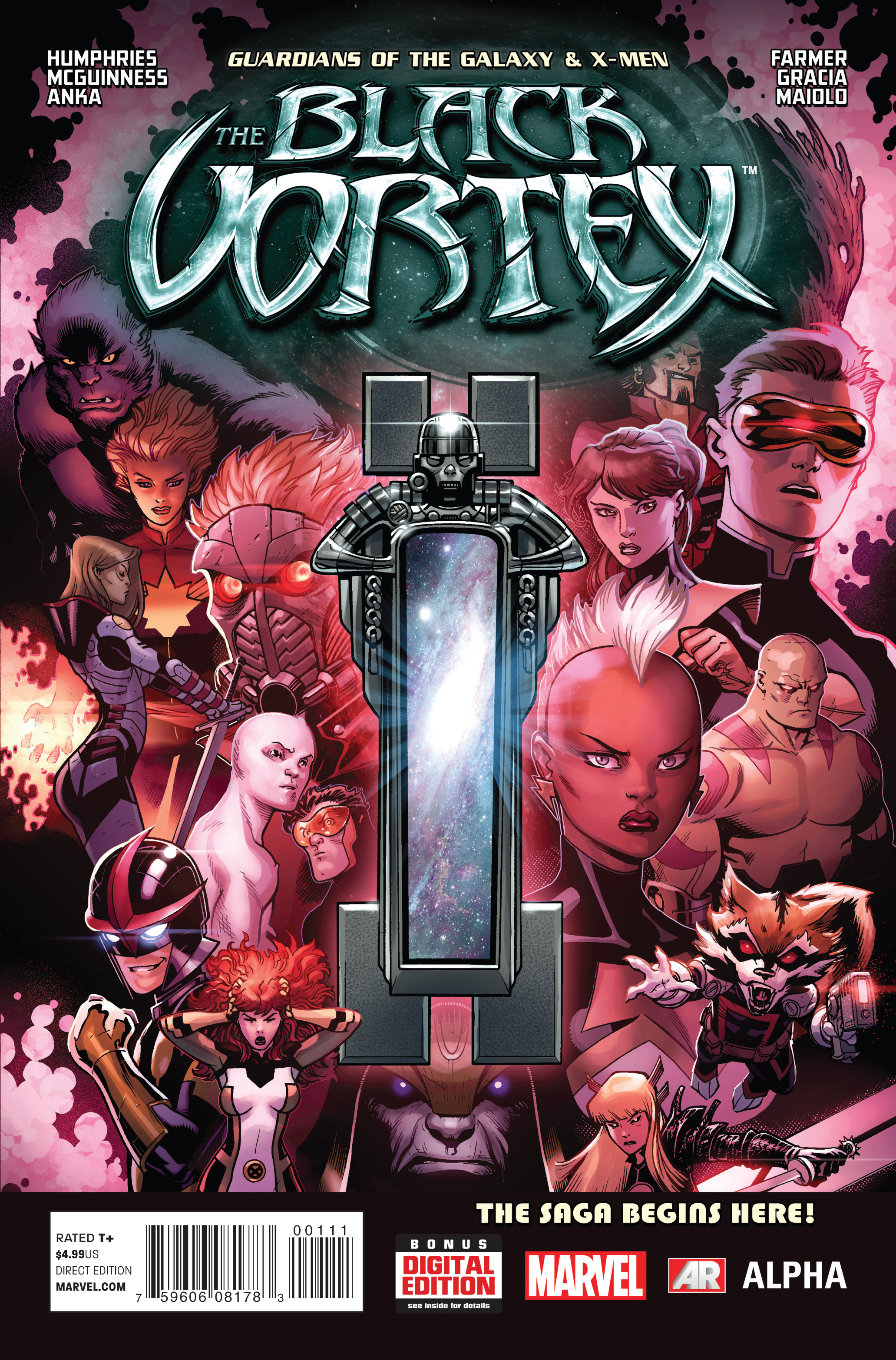 GOTG AND X-MEN BLACK VORTEX ALPHA #1 BV