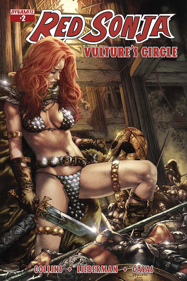 RED SONJA VULTURES CIRCLE #2 CVR A ANACLETO MAIN