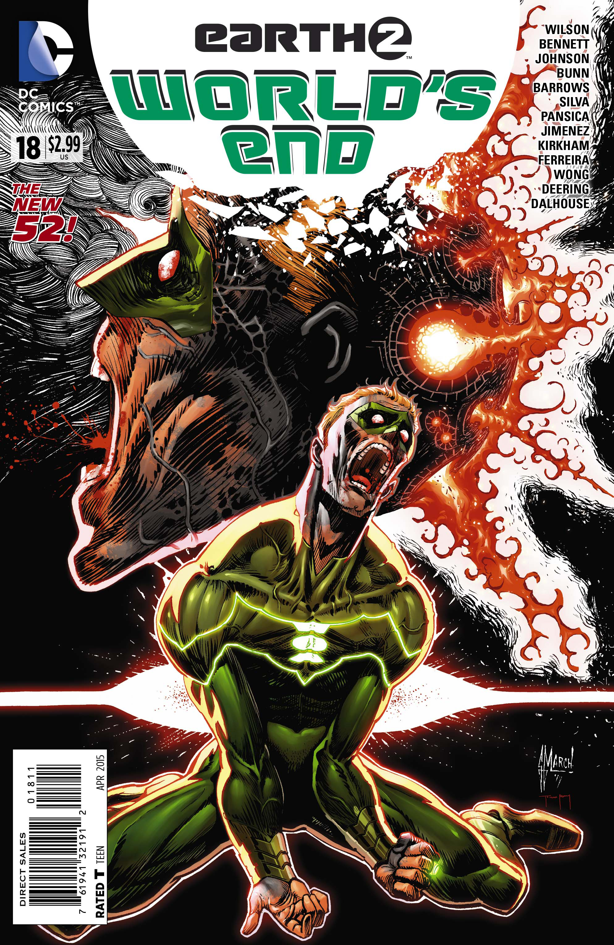 EARTH 2 WORLDS END #18