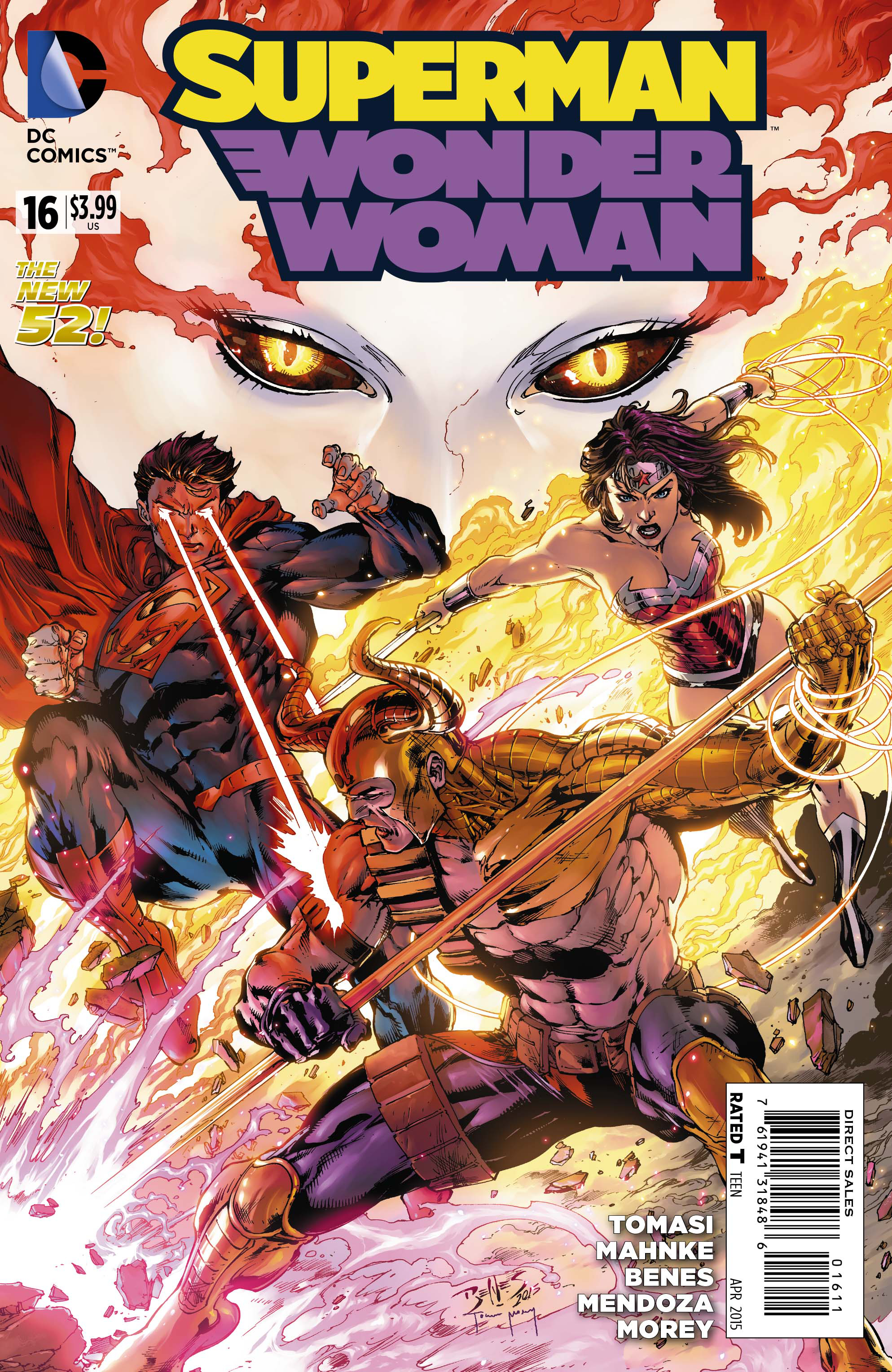 SUPERMAN WONDER WOMAN #16