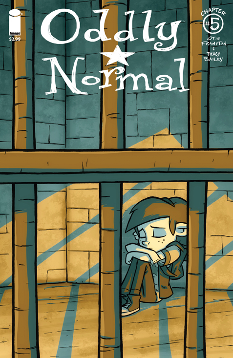 ODDLY NORMAL #5 CVR A FRAMPTON