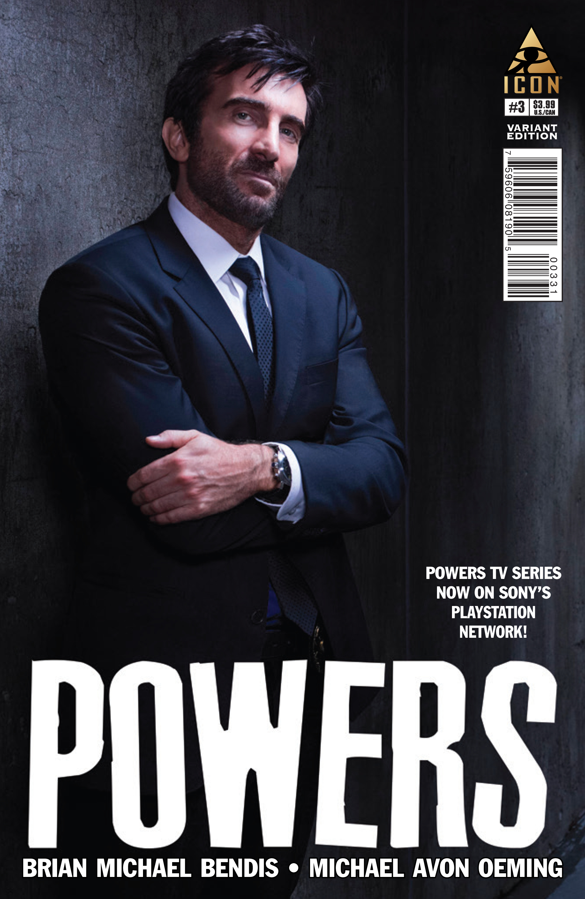 POWERS #3 PHOTO VAR (MR)