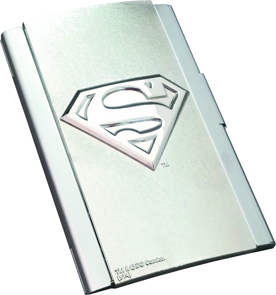 DC SUPERMAN LOGO BUSINESS CARD CASE