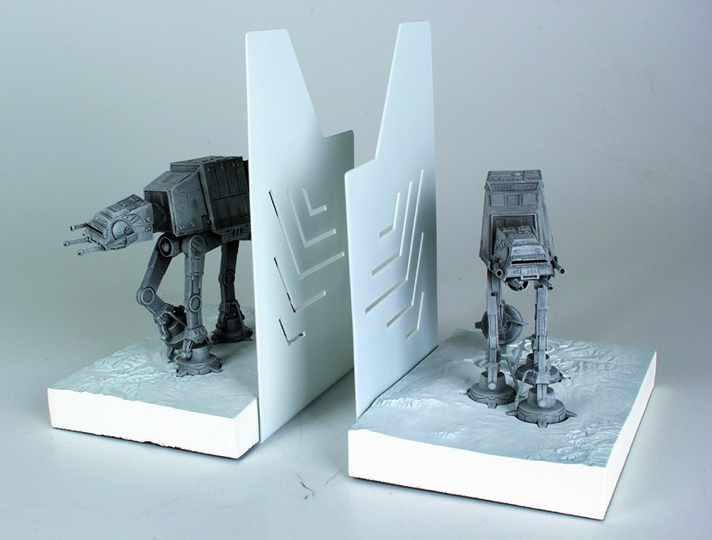 SW AT-AT MINI-BOOKENDS