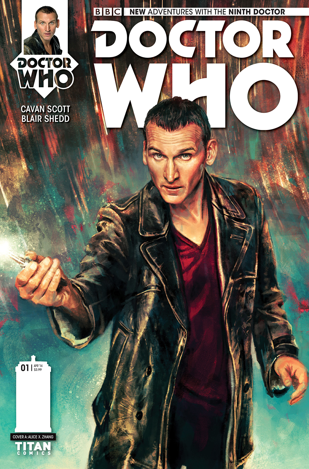 DOCTOR WHO 9TH #1 (OF 5) REG ZHANG