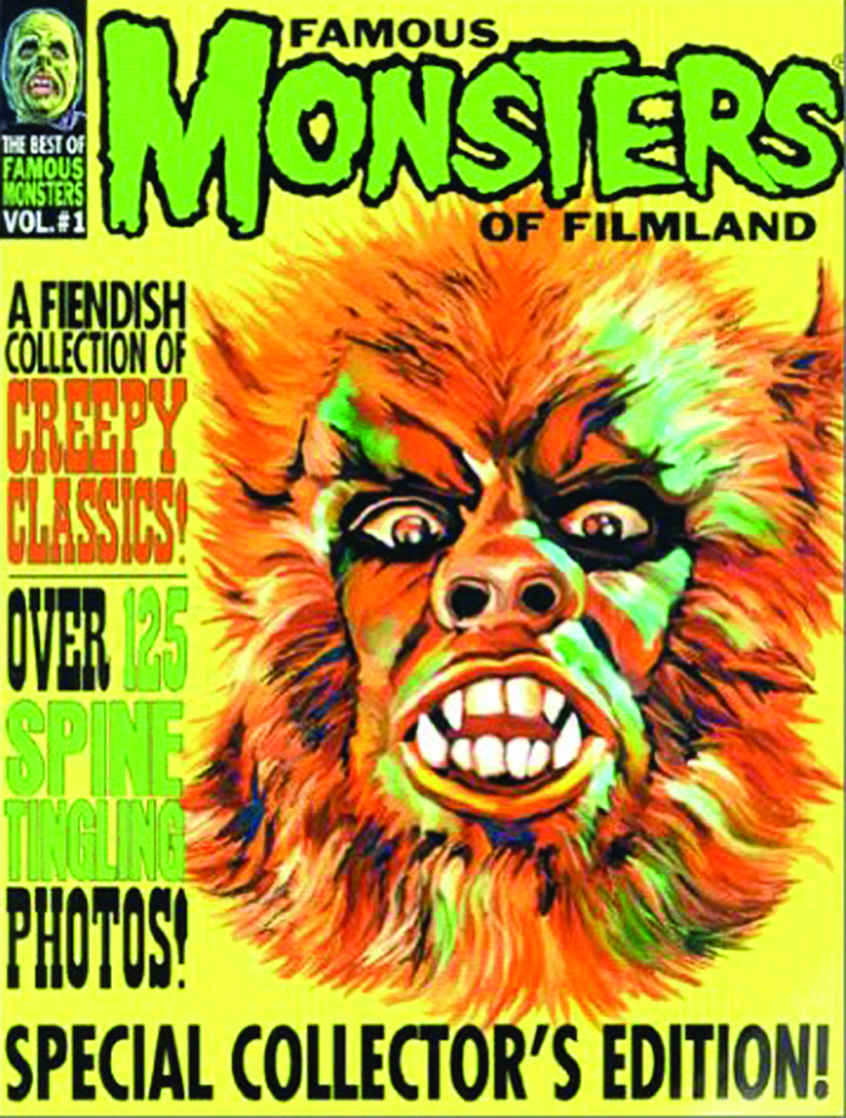 FAMOUS MONSTERS OF FILMLAND BEST OF COLLECTION #1