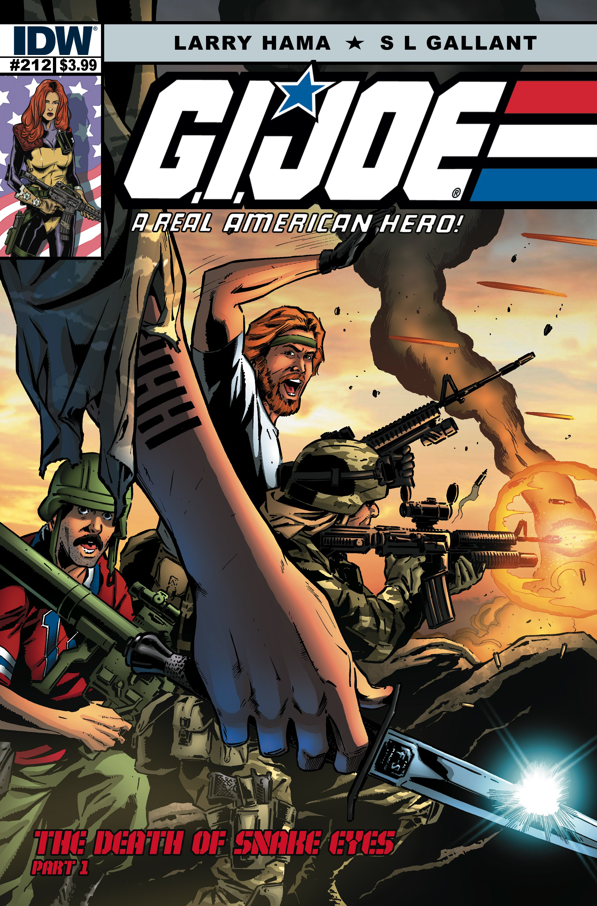 (USE MAR158302) GI JOE A REAL AMERICAN HERO #212