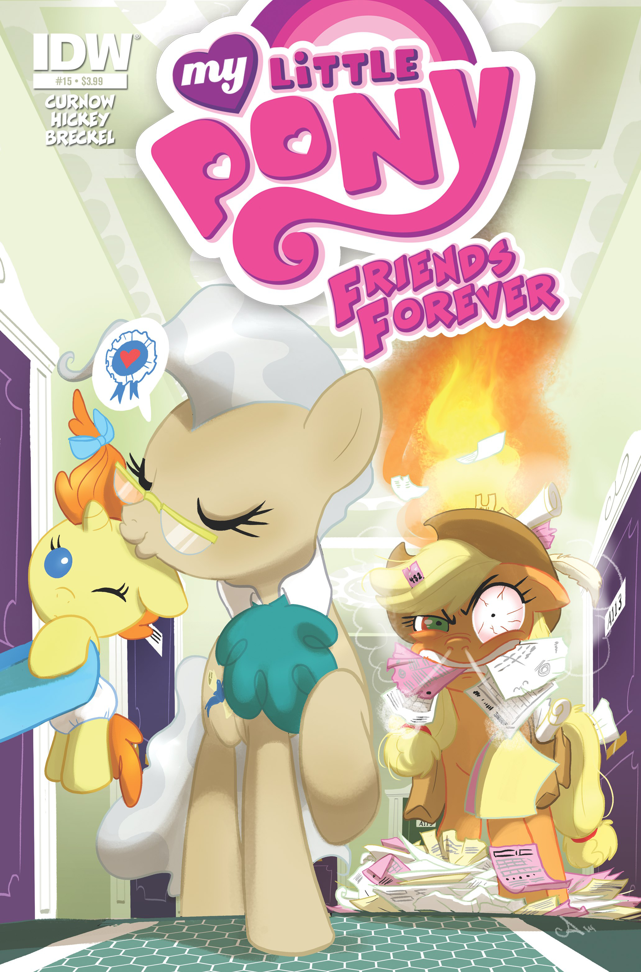 MY LITTLE PONY FRIENDS FOREVER #15
