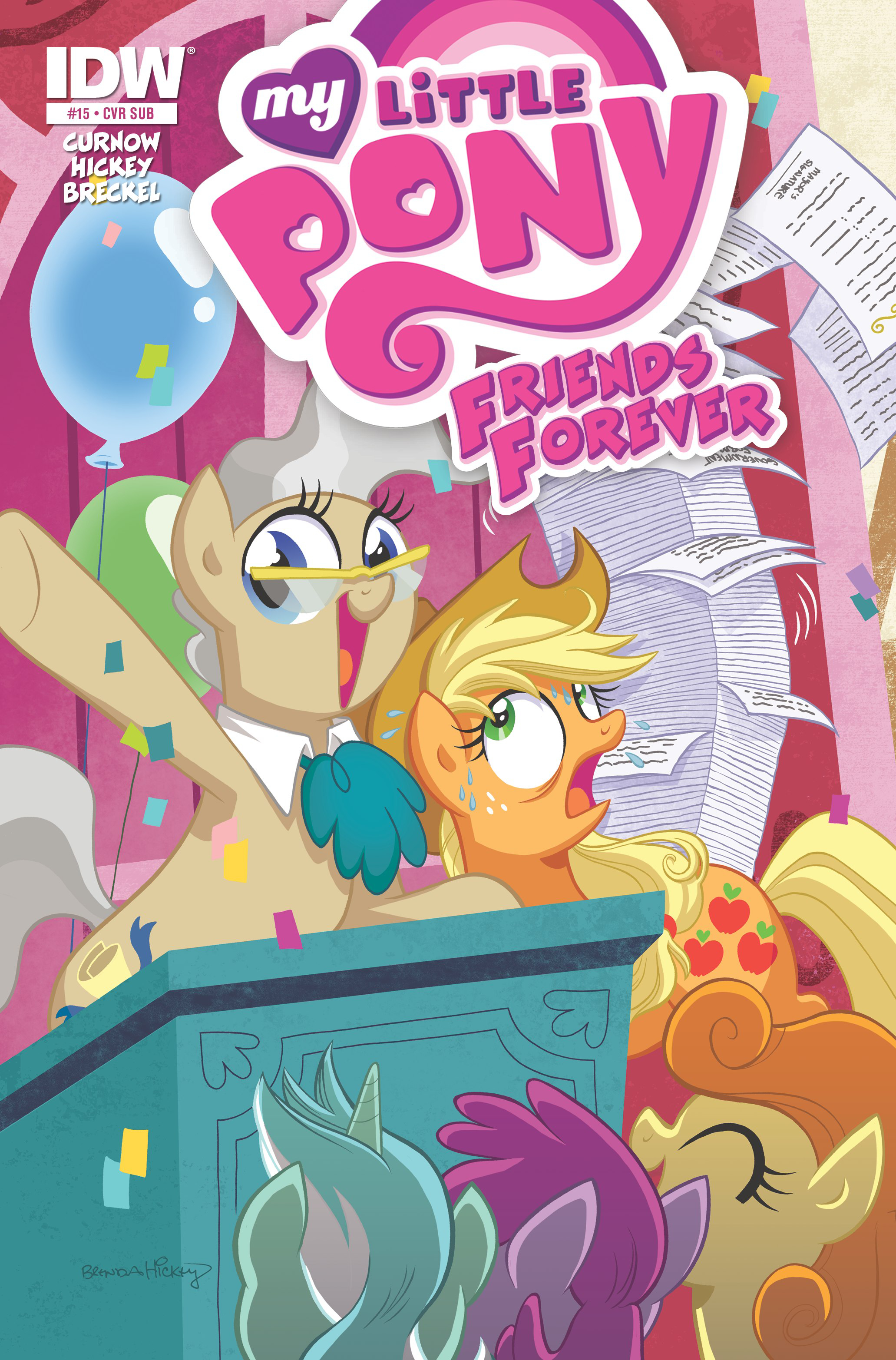 MY LITTLE PONY FRIENDS FOREVER #15 SUBSCRIPTION VAR