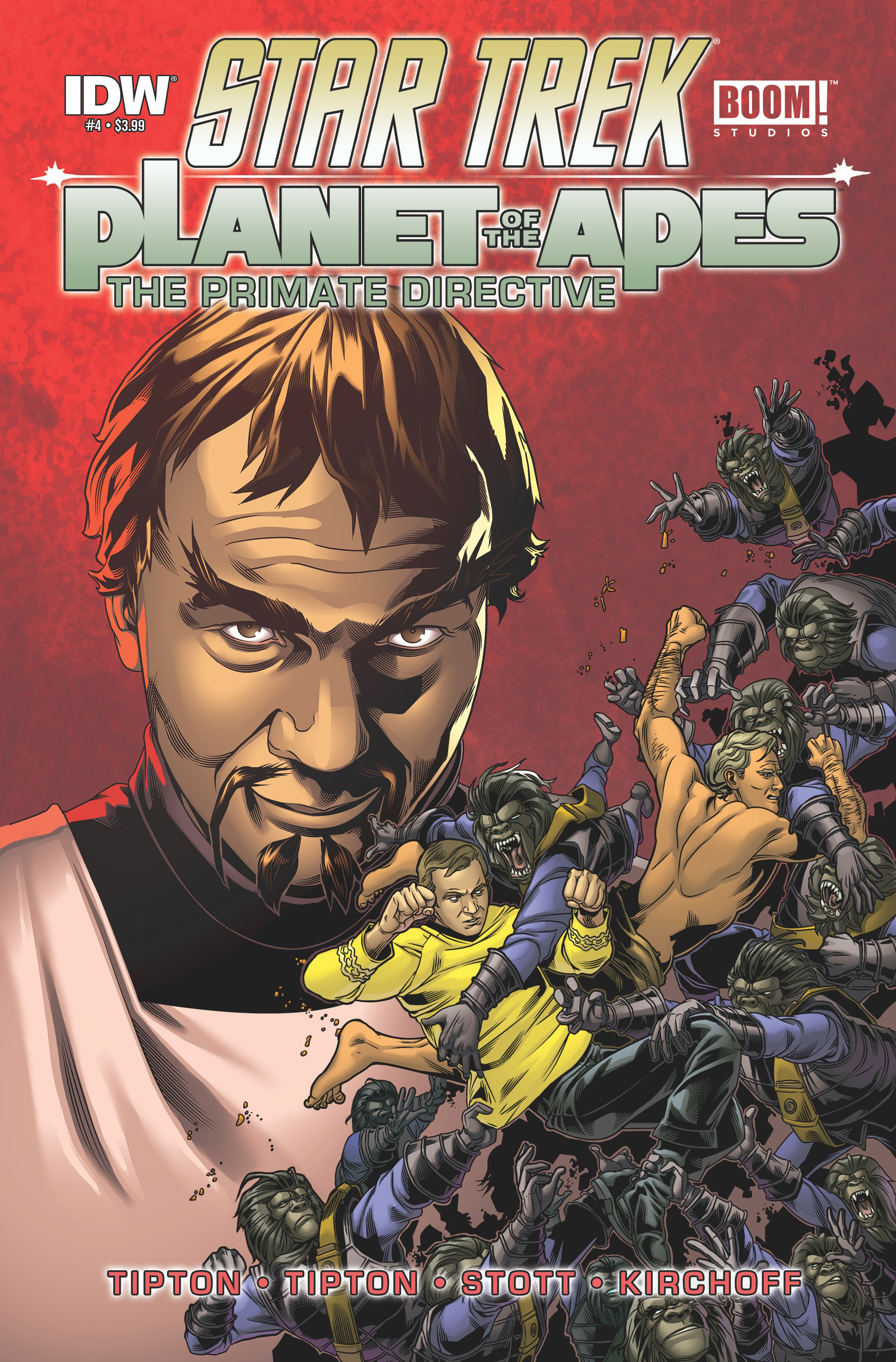 STAR TREK PLANET OF THE APES #4